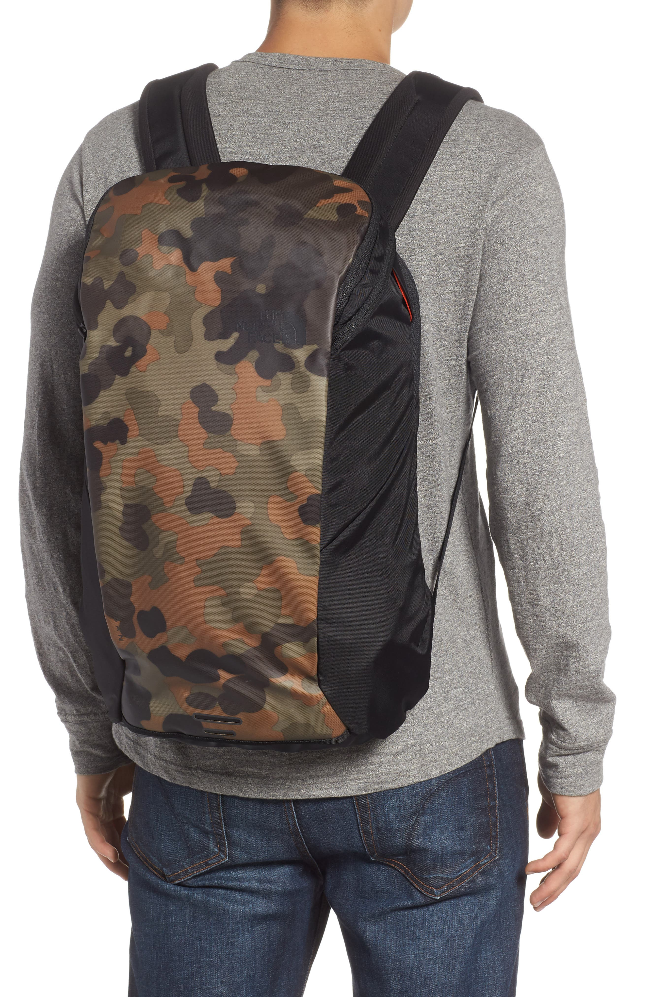 Ka-Ban Backpack,                             Alternate thumbnail 2, color,                             TAUPE GREEN/ MACROFLECK PRINT