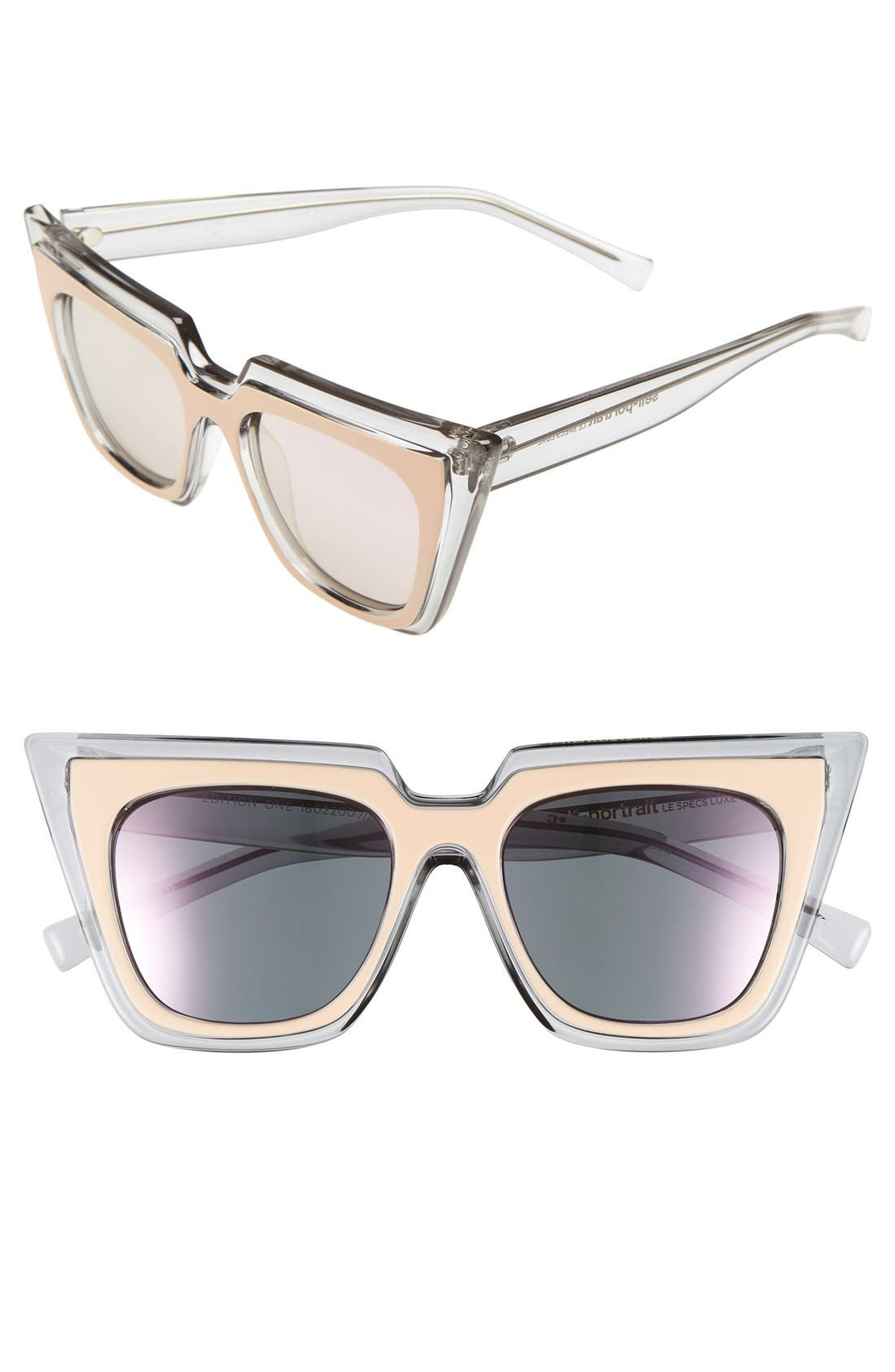'Edition One' 51mm Sunglasses,                             Main thumbnail 4, color,