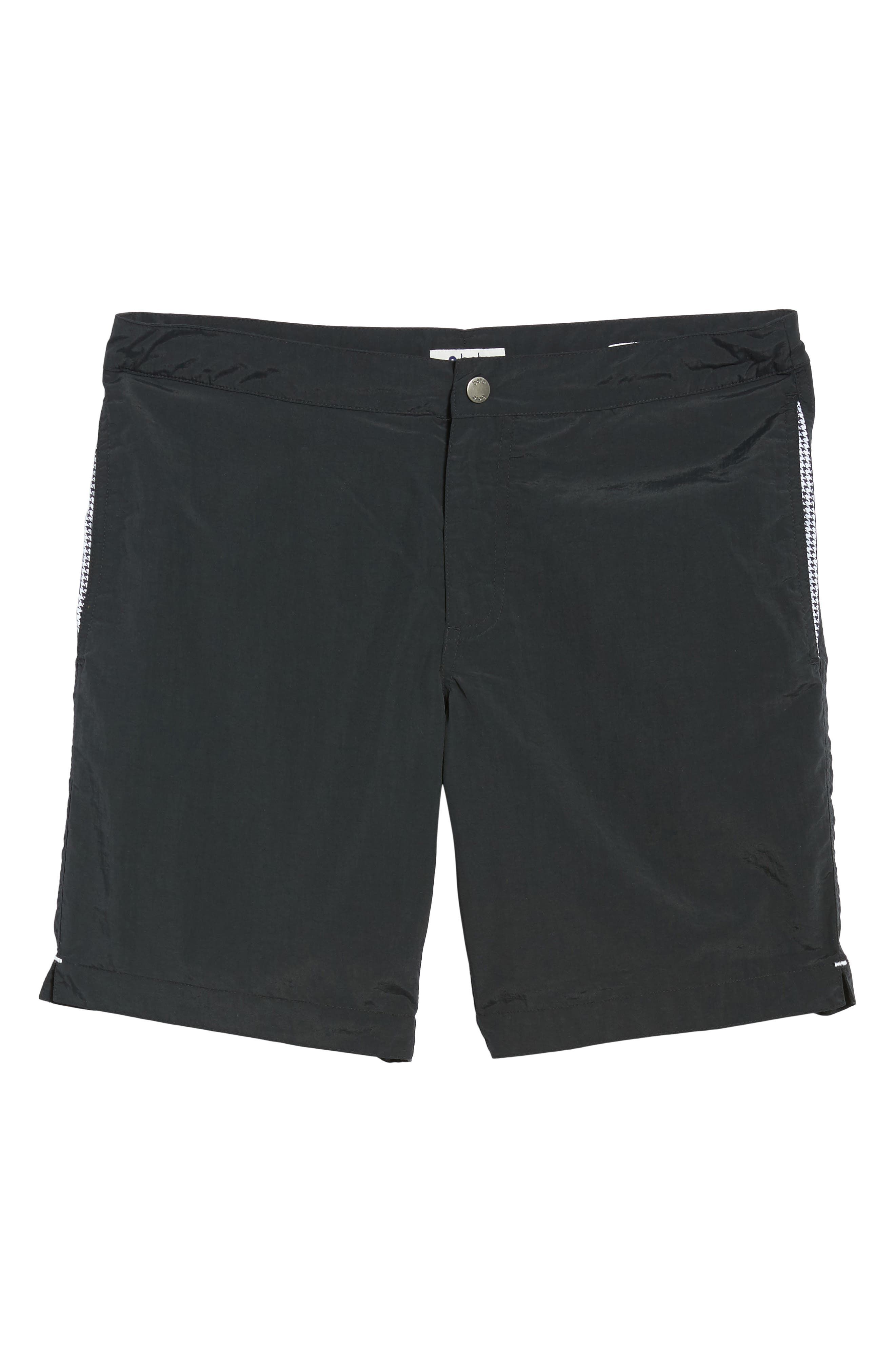 'Aruba - Island' Tailored Fit 8.5 Inch Board Shorts,                             Alternate thumbnail 6, color,                             001