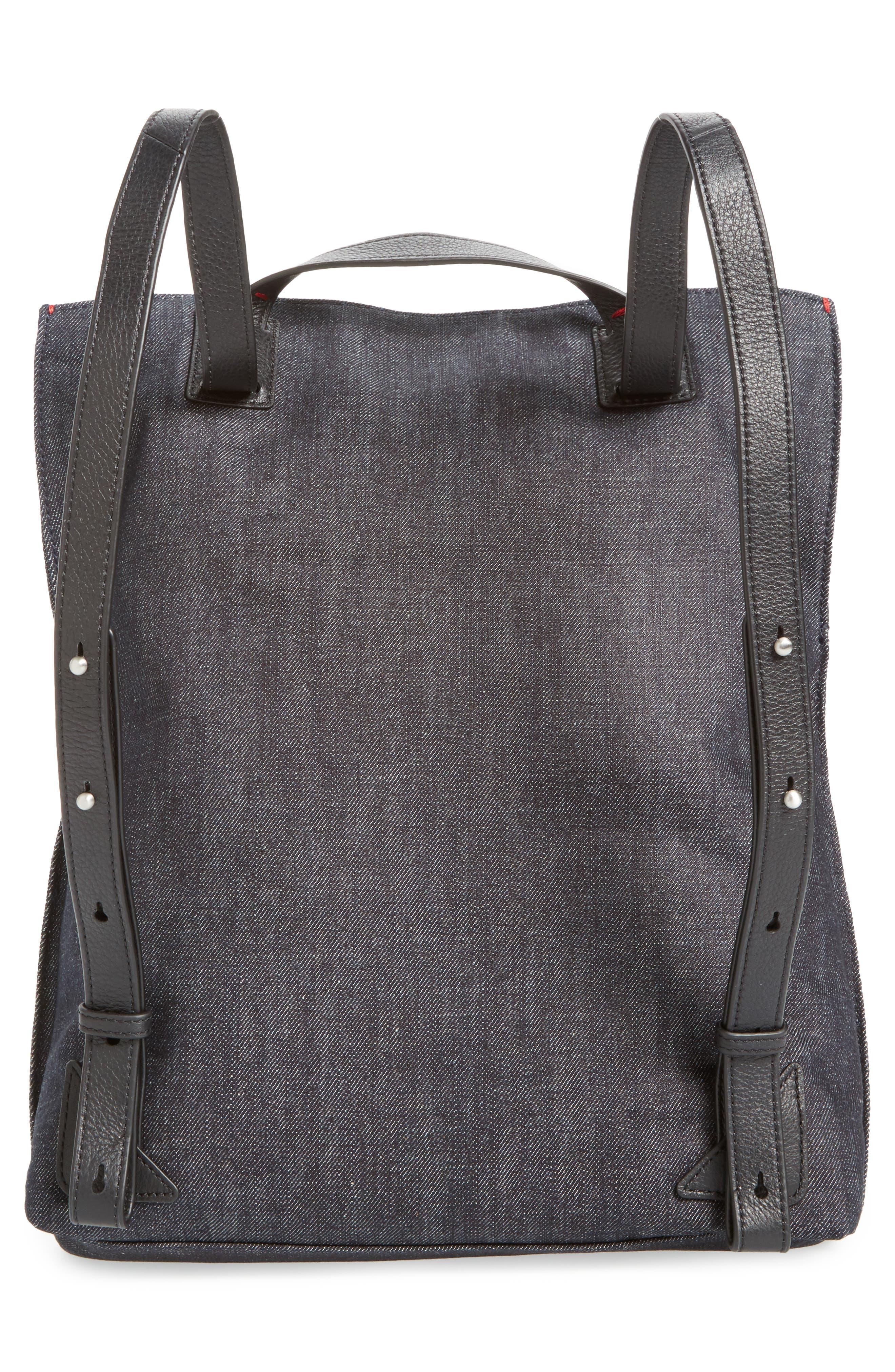 Fremont Woven Backpack,                             Alternate thumbnail 3, color,                             001