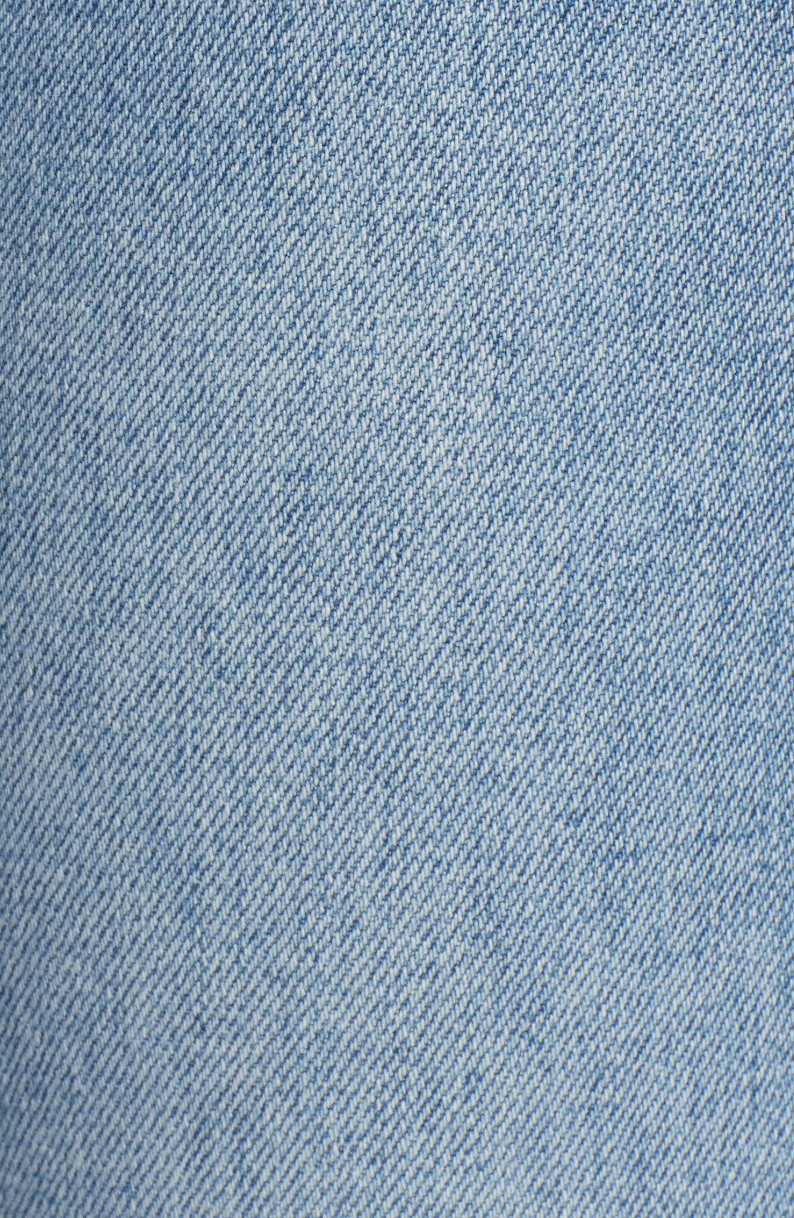 Dazzler Shift Step Waistband Jeans,                             Alternate thumbnail 6, color,                             452