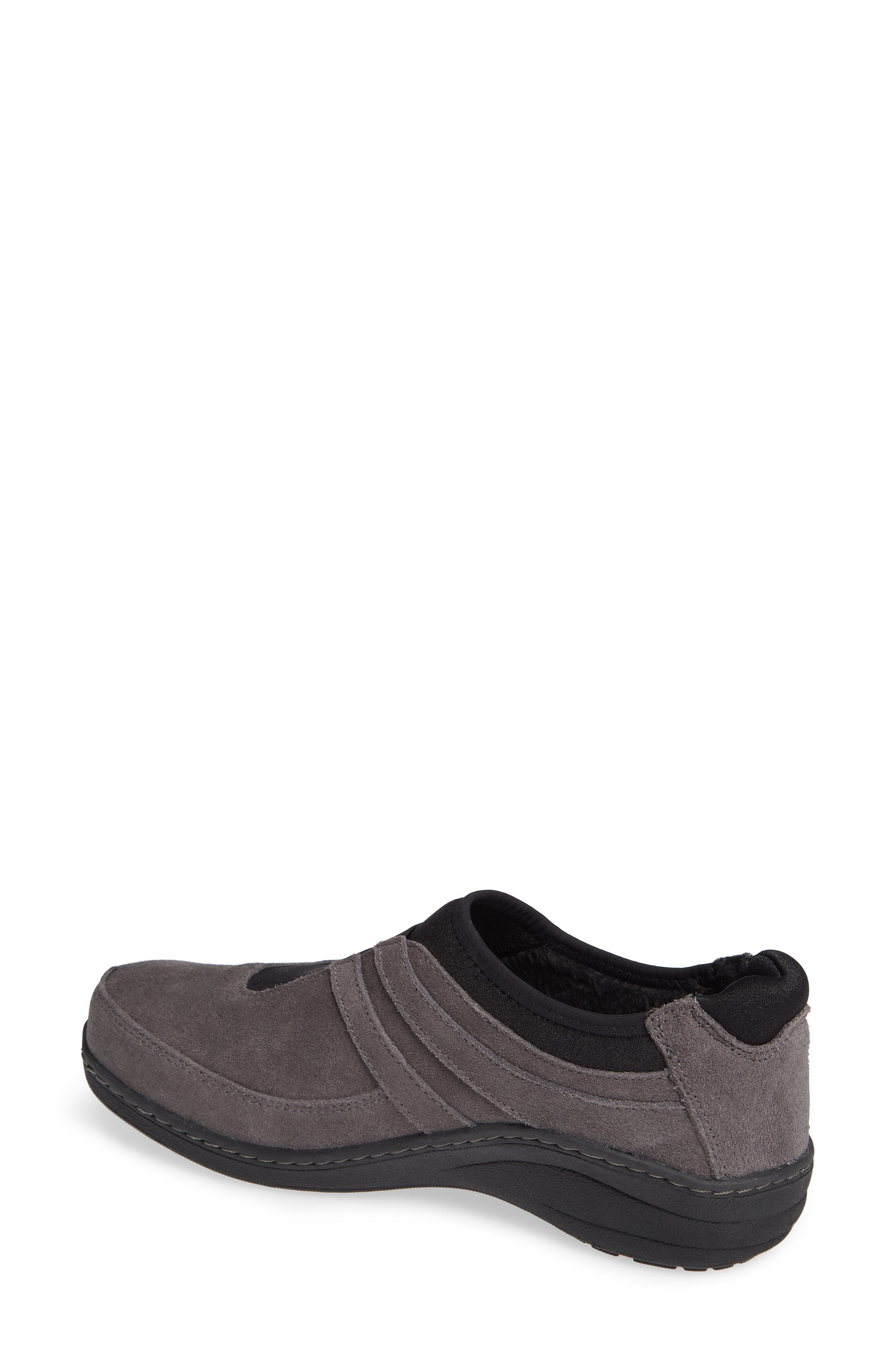 Berries Slip-On Sneaker,                             Alternate thumbnail 2, color,                             CHARCOAL FABRIC