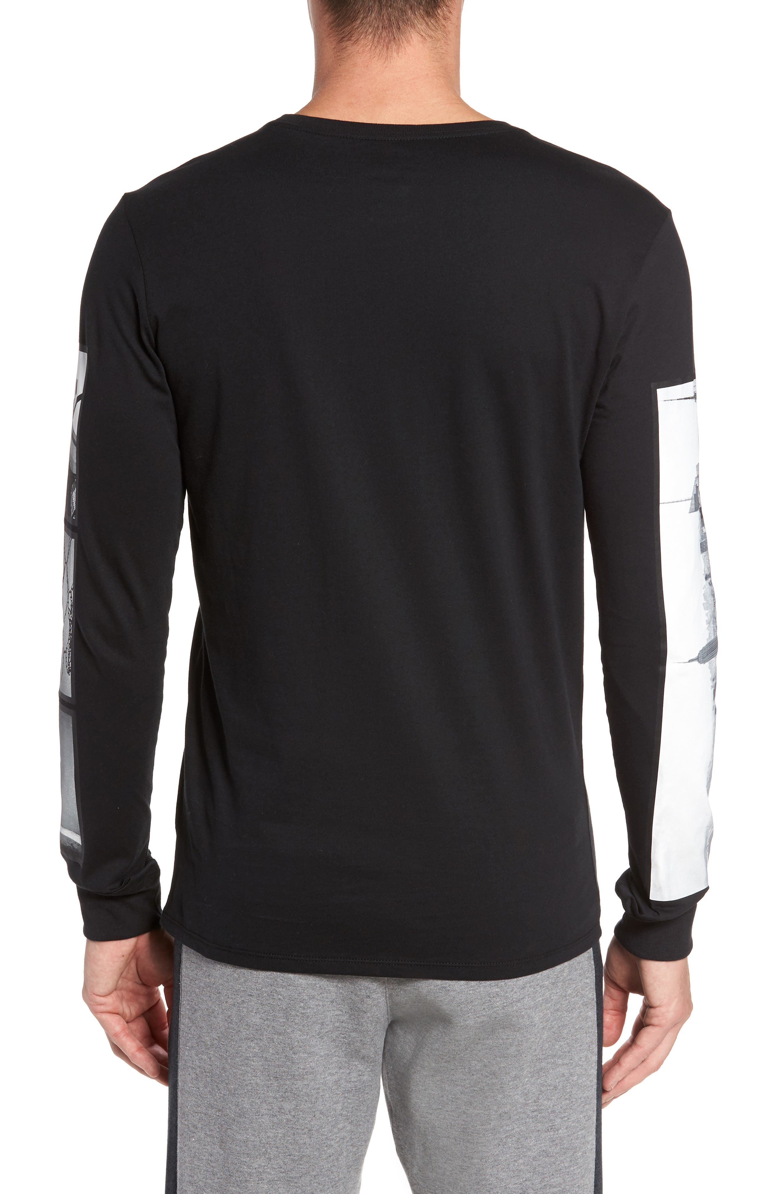 Air Force 1 Long Sleeve T-Shirt,                             Alternate thumbnail 2, color,                             010