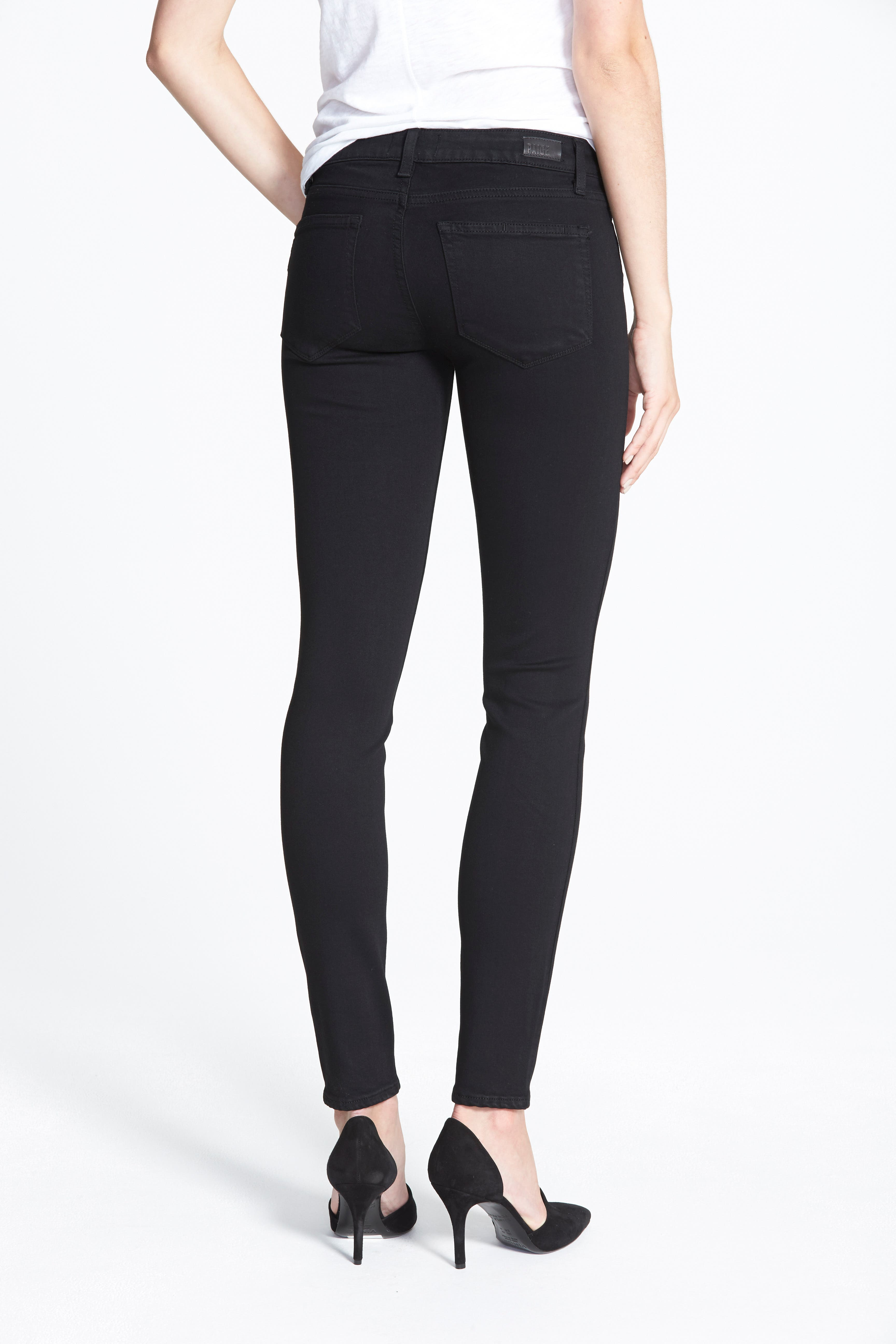 Transcend - Verdugo Ultra Skinny Jeans,                             Alternate thumbnail 2, color,                             BLACK SHADOW