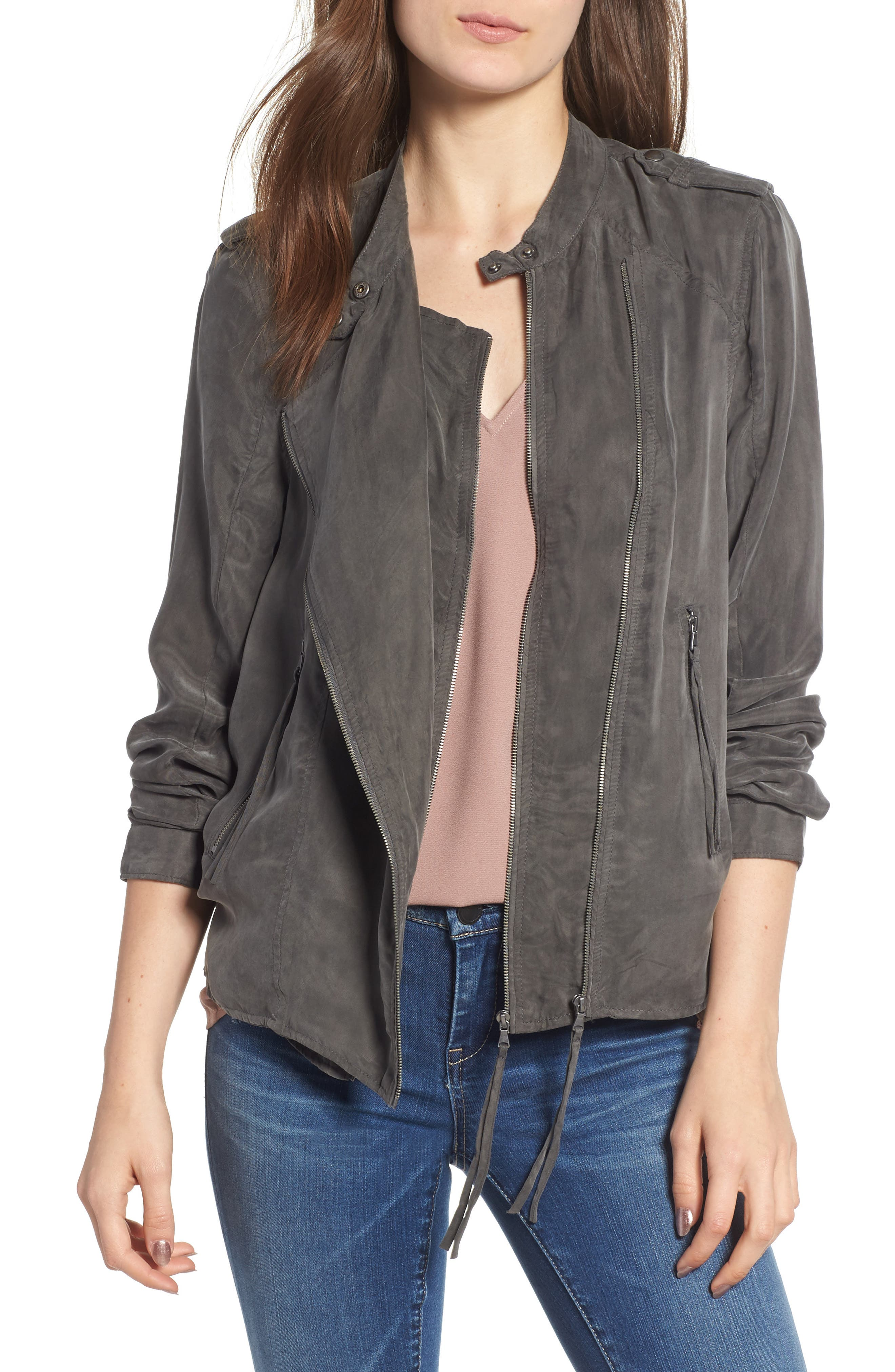 BLANKNYC Paystub Jacket, Main, color, 300