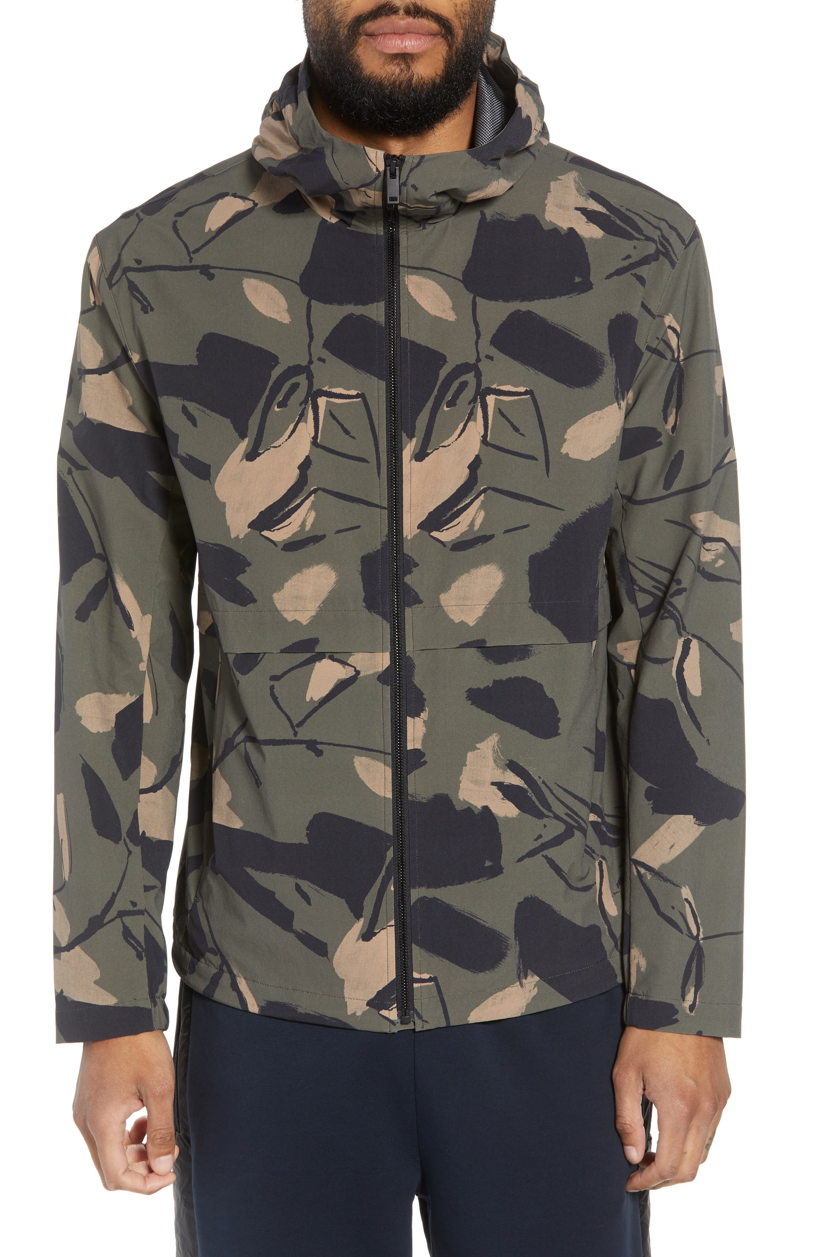 Wright Delfine Hooded Jacket,                             Alternate thumbnail 4, color,                             399