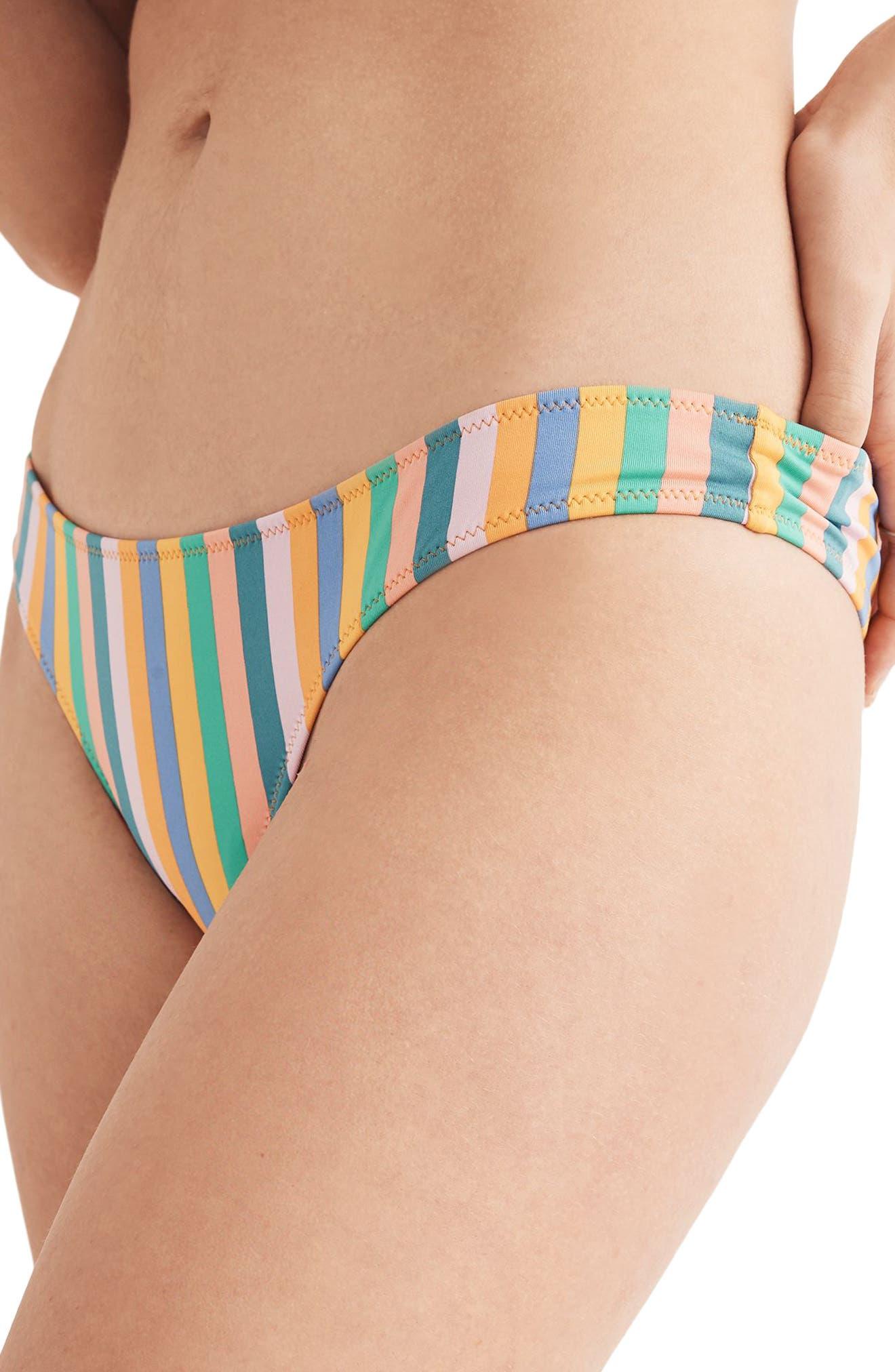 Daryl Hipster Cheeky Bikini Bottoms,                             Alternate thumbnail 3, color,                             400