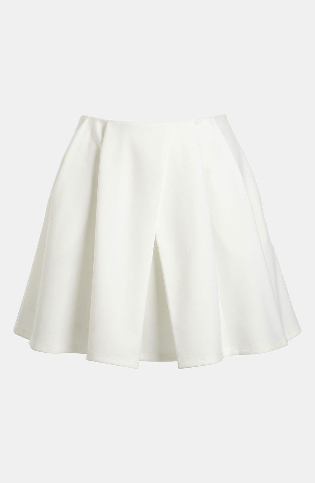 Skater Skirt,                             Main thumbnail 1, color,                             100