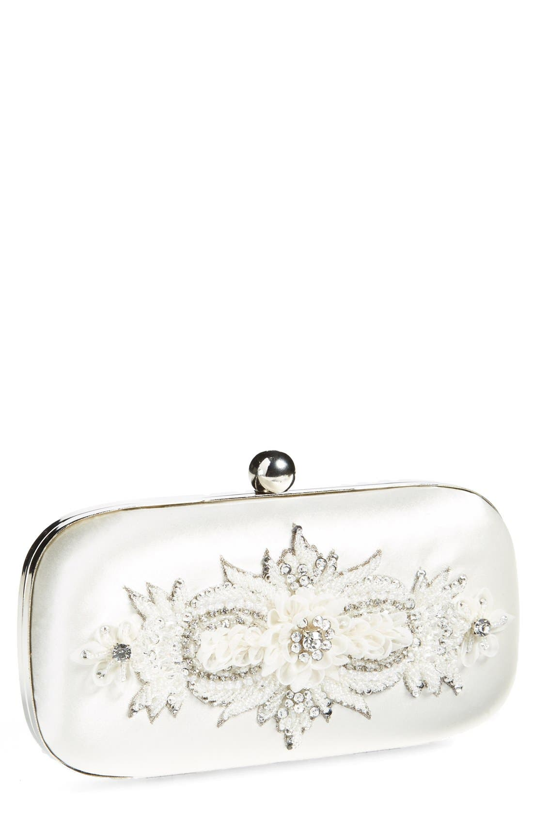 'Narke' Bridal Minaudiere,                         Main,                         color, 900