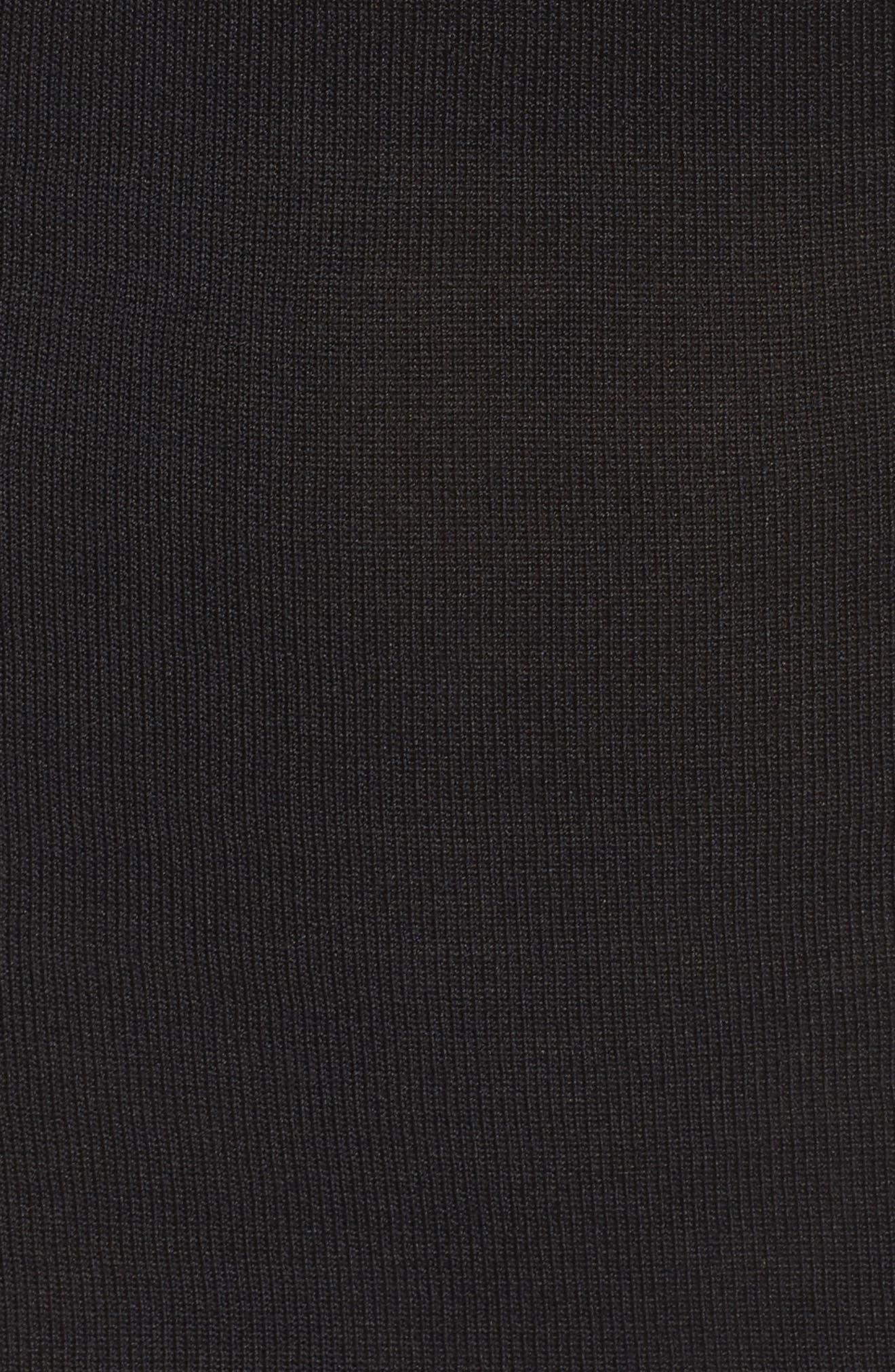 Hard Lemonade Knit Dress,                             Alternate thumbnail 6, color,                             001