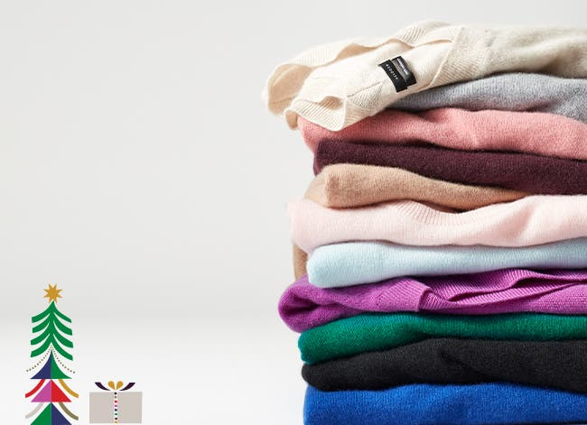 The gift of empowerment: cashmere sweaters and nonprofit HERproject.