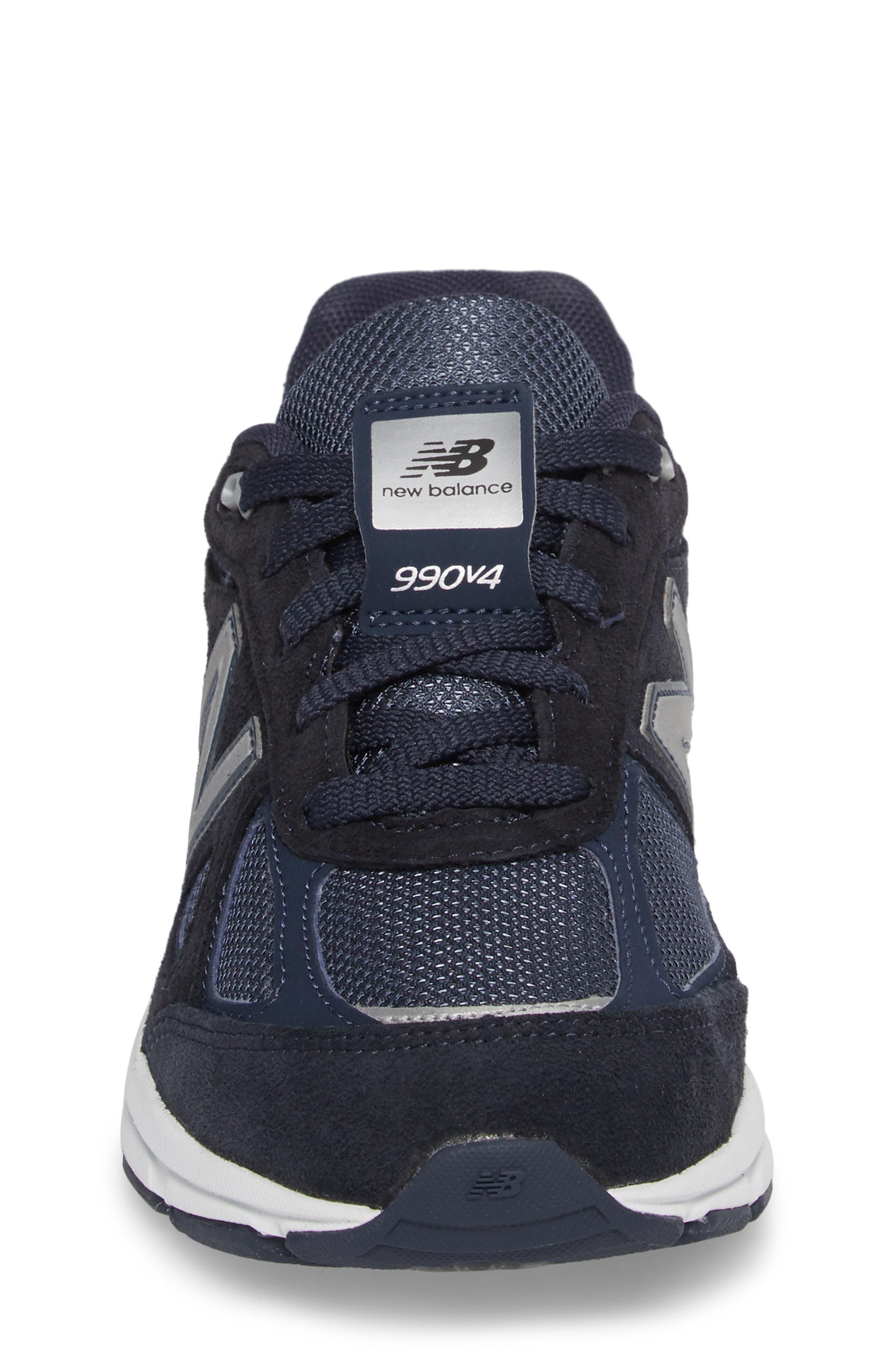 990v4 Sneaker,                             Alternate thumbnail 4, color,