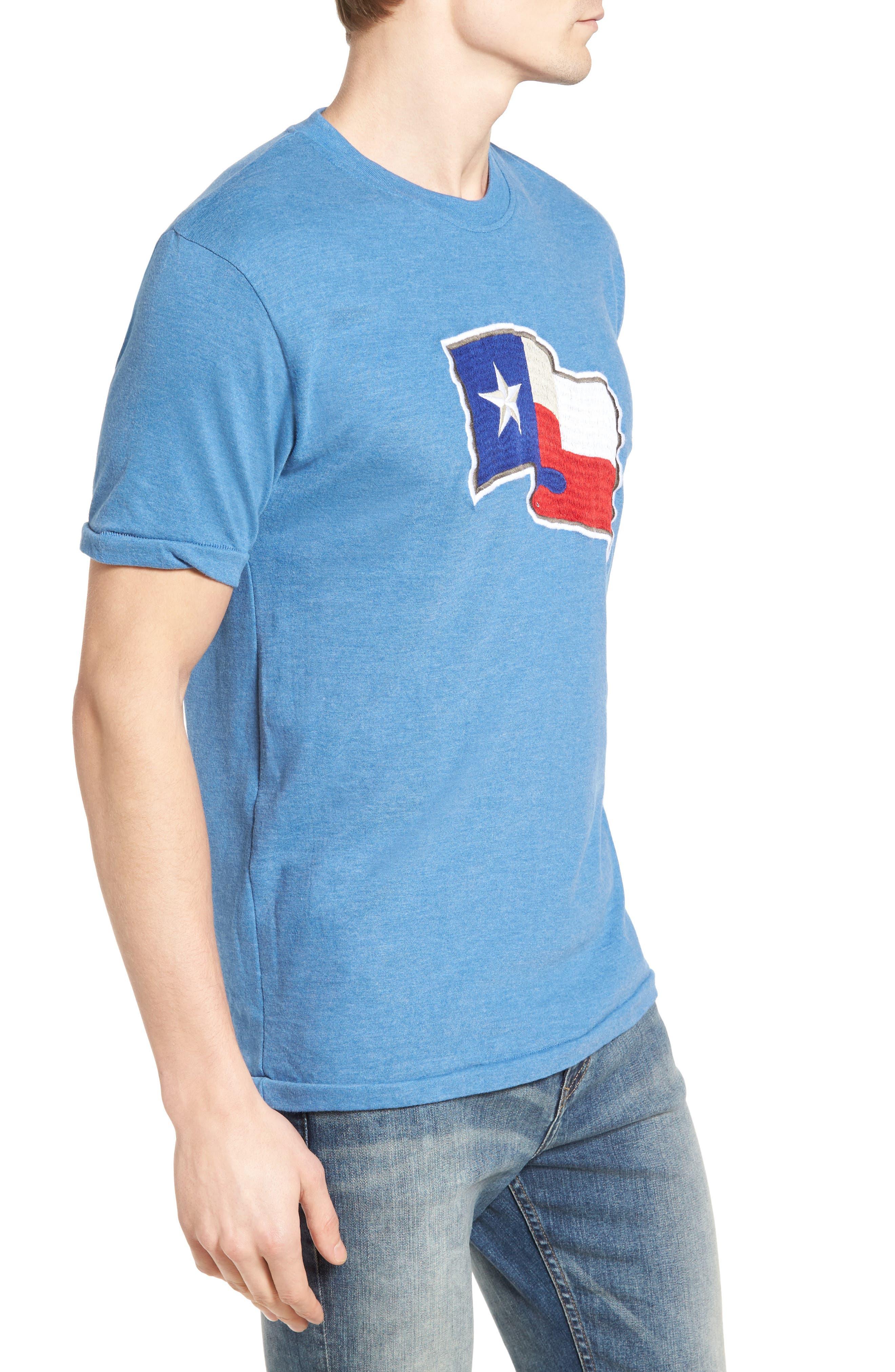 Hillwood Texas Rangers T-Shirt,                             Alternate thumbnail 3, color,                             450