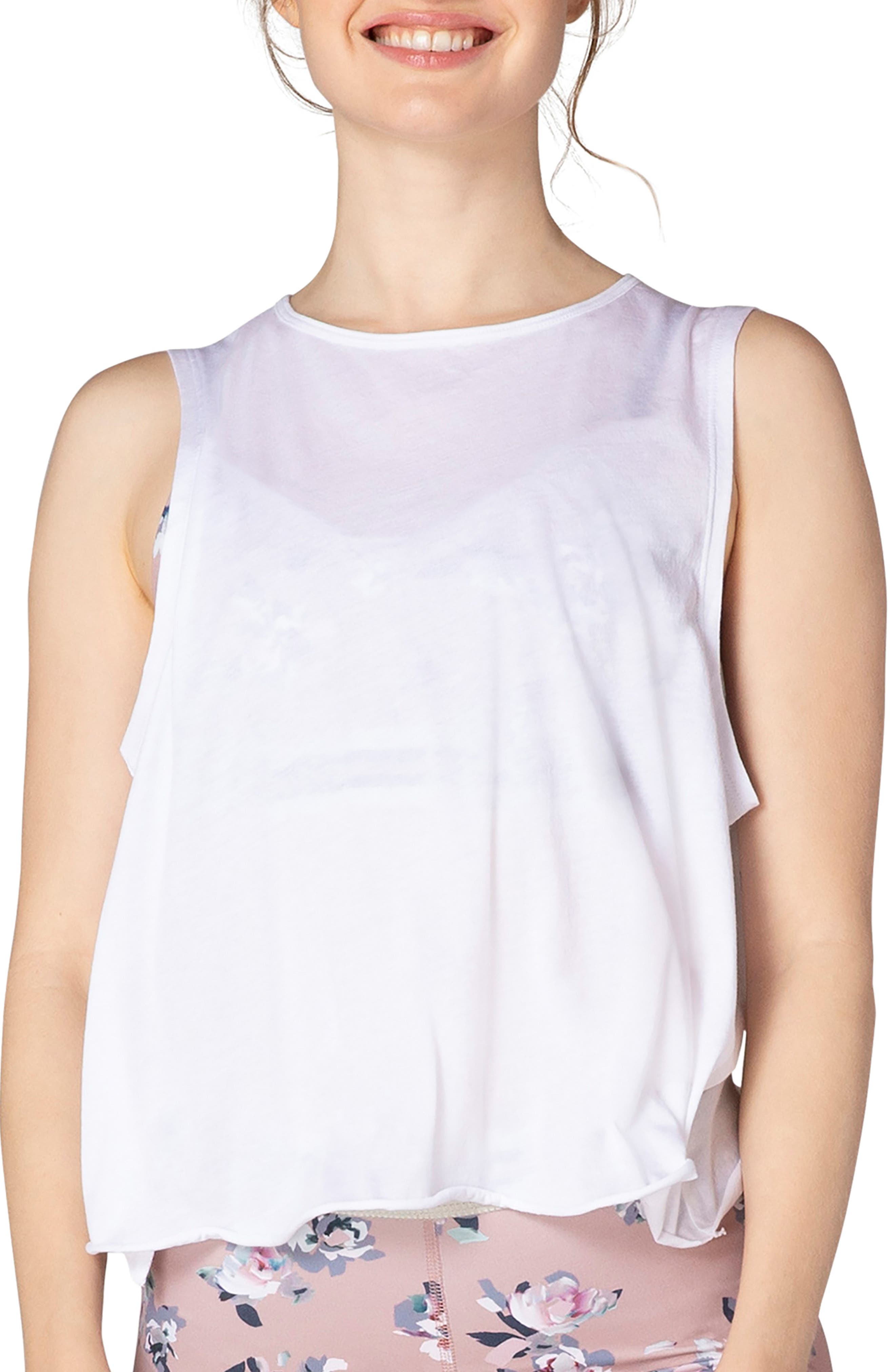 All About It Crop Tank Top, Main, color, 101