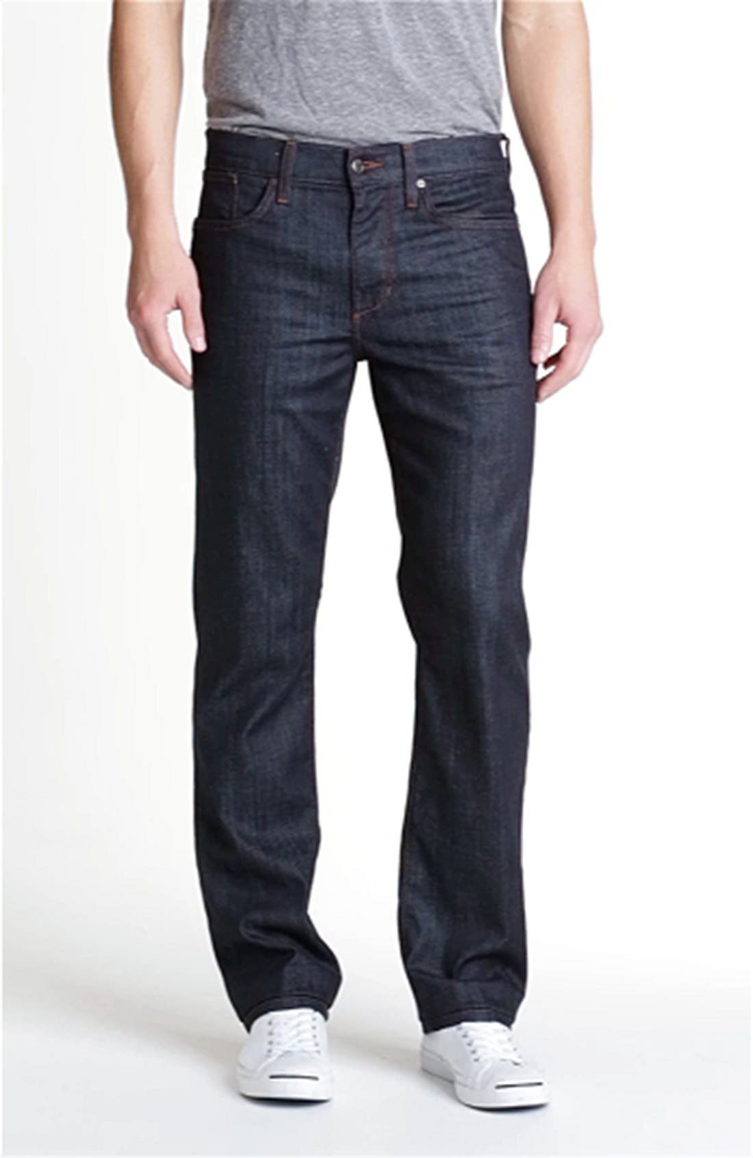Classic Straight Leg Jeans,                             Alternate thumbnail 13, color,                             DAKOTA