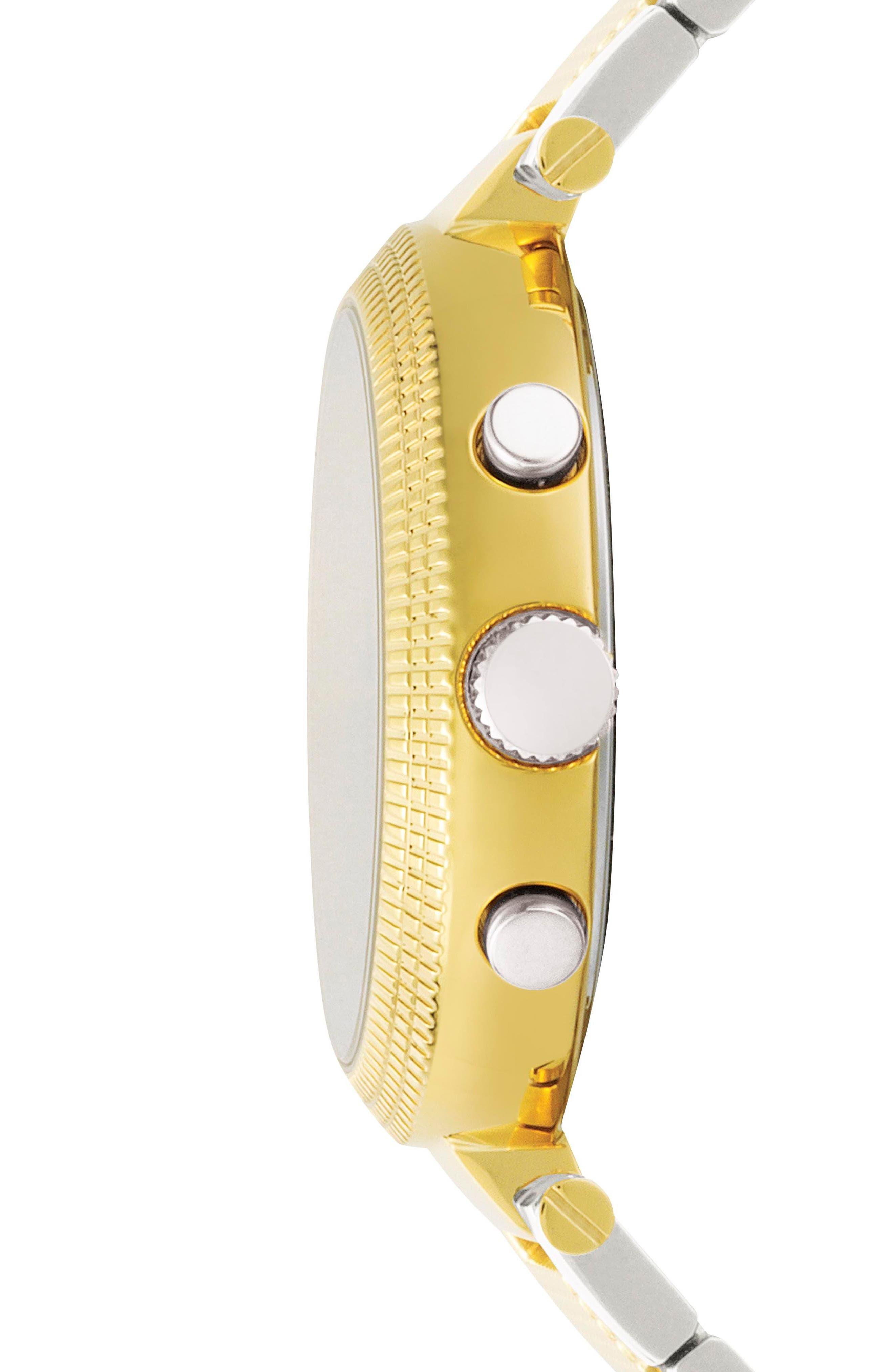 Versus by Versace Star Ferry Chronograph Bracelet Watch, 38mm,                             Alternate thumbnail 5, color,