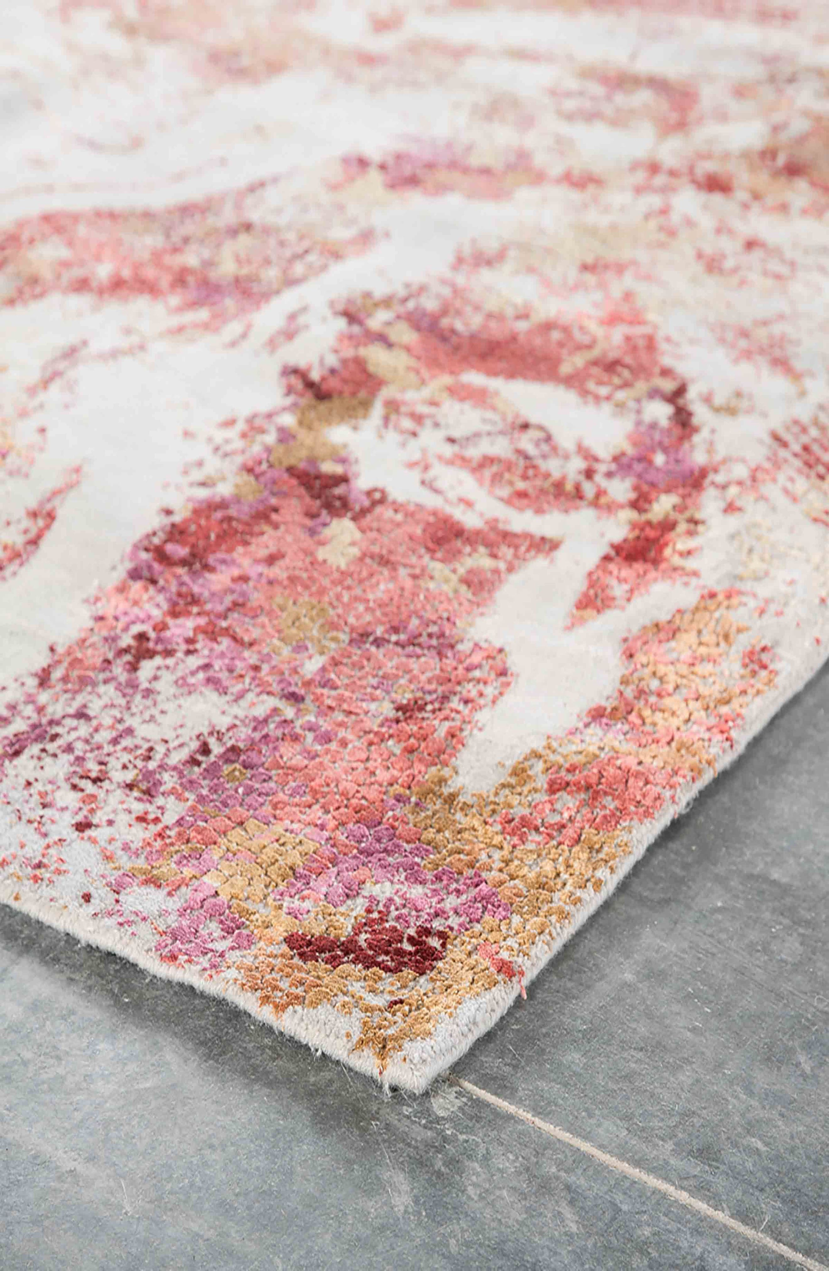 Unstring Rug,                             Alternate thumbnail 2, color,                             PINK