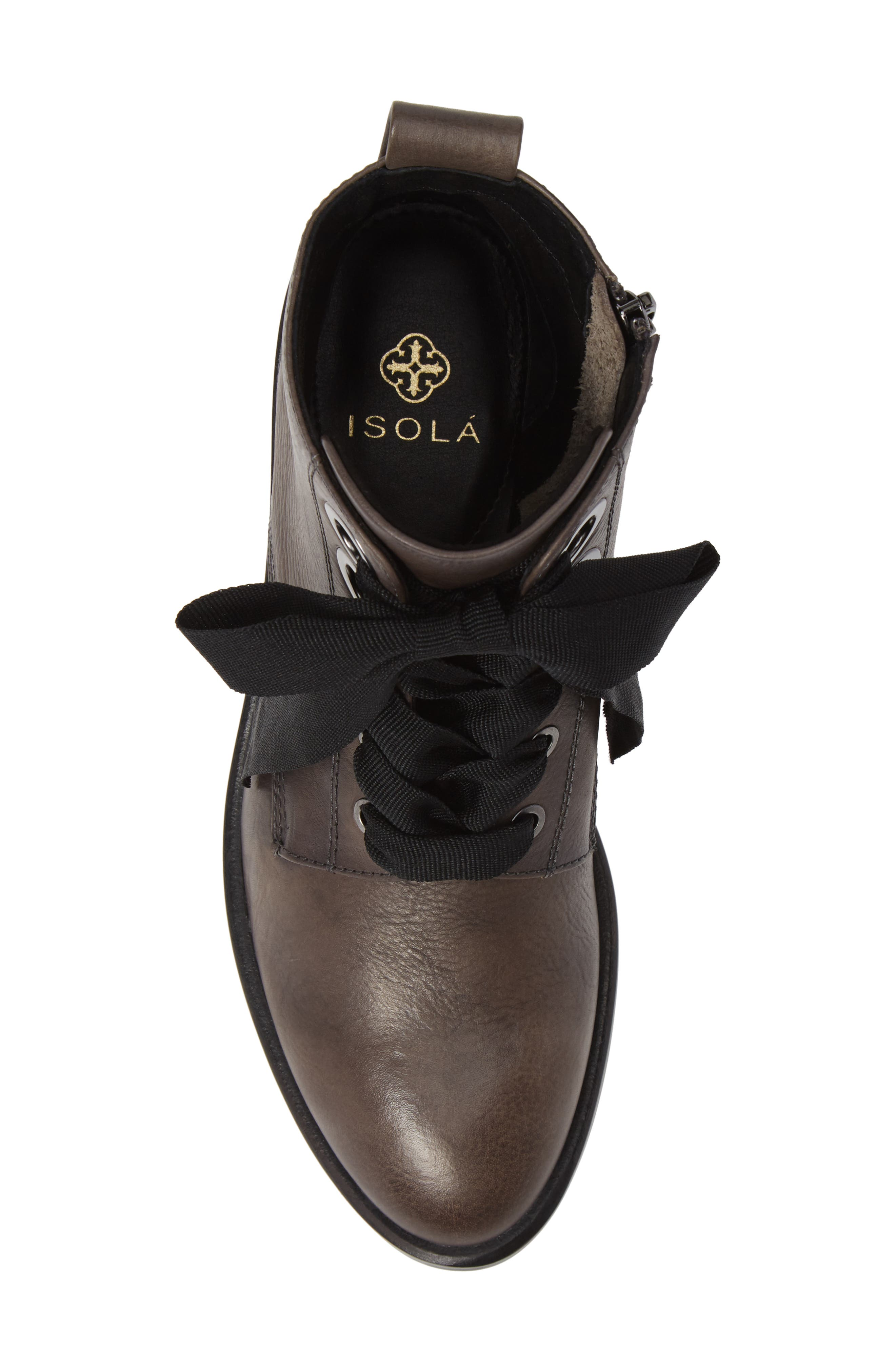 Tocina Bootie,                             Alternate thumbnail 5, color,                             PAVEMENT LEATHER