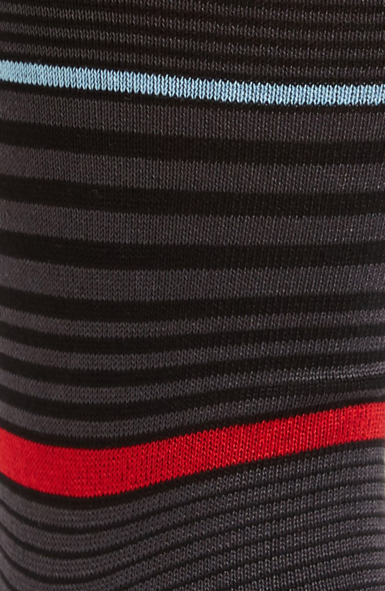 Stripe Crew Socks,                             Alternate thumbnail 2, color,                             017