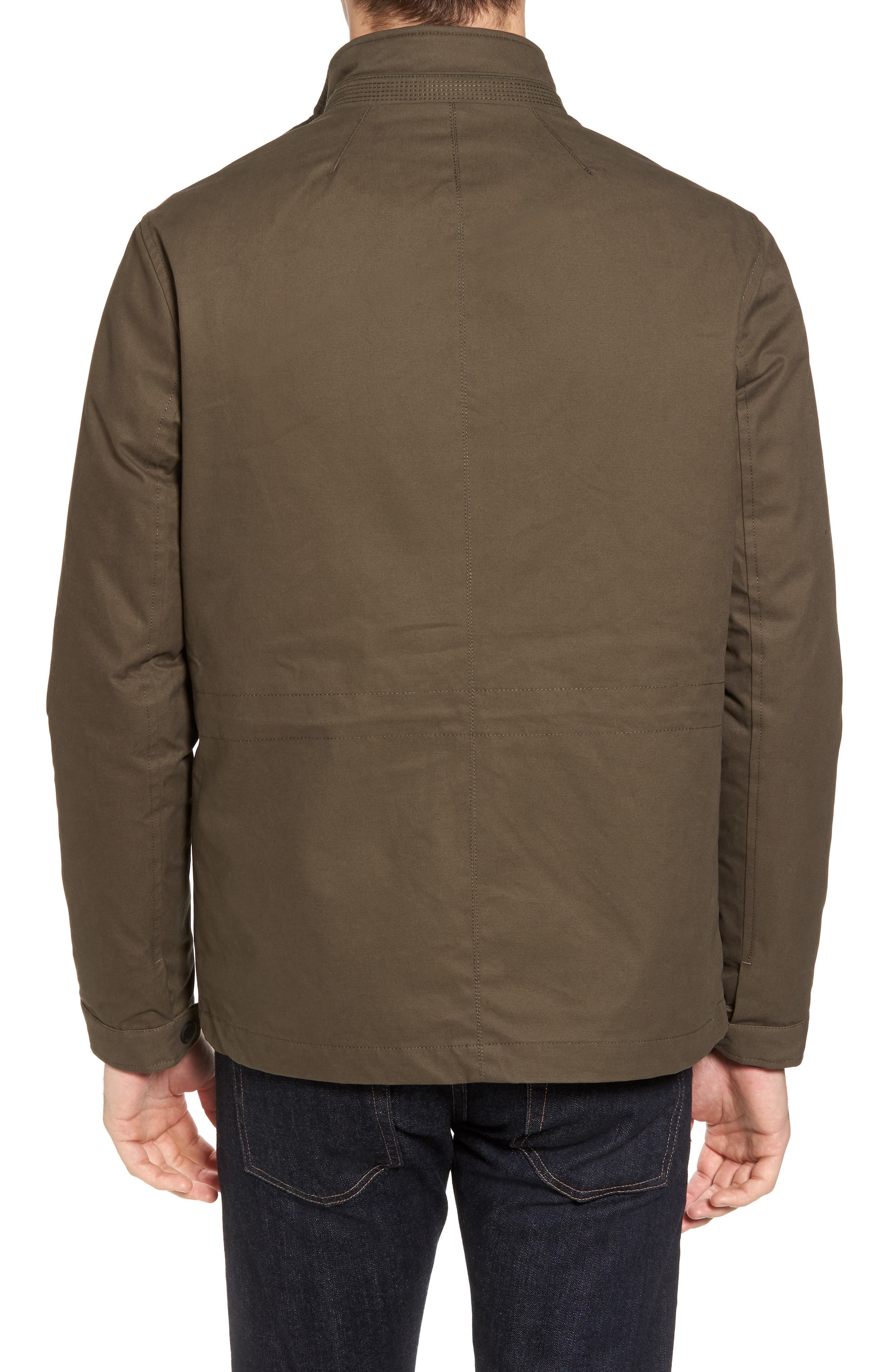 Nilson Trim Fit Quilted Field Jacket,                             Alternate thumbnail 2, color,                             312