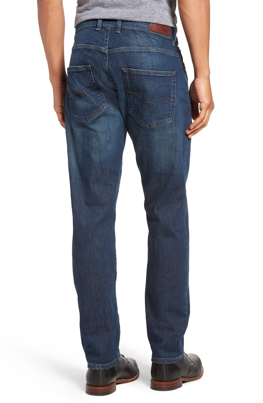 Calvert Slim Fit Jeans,                             Alternate thumbnail 2, color,                             400