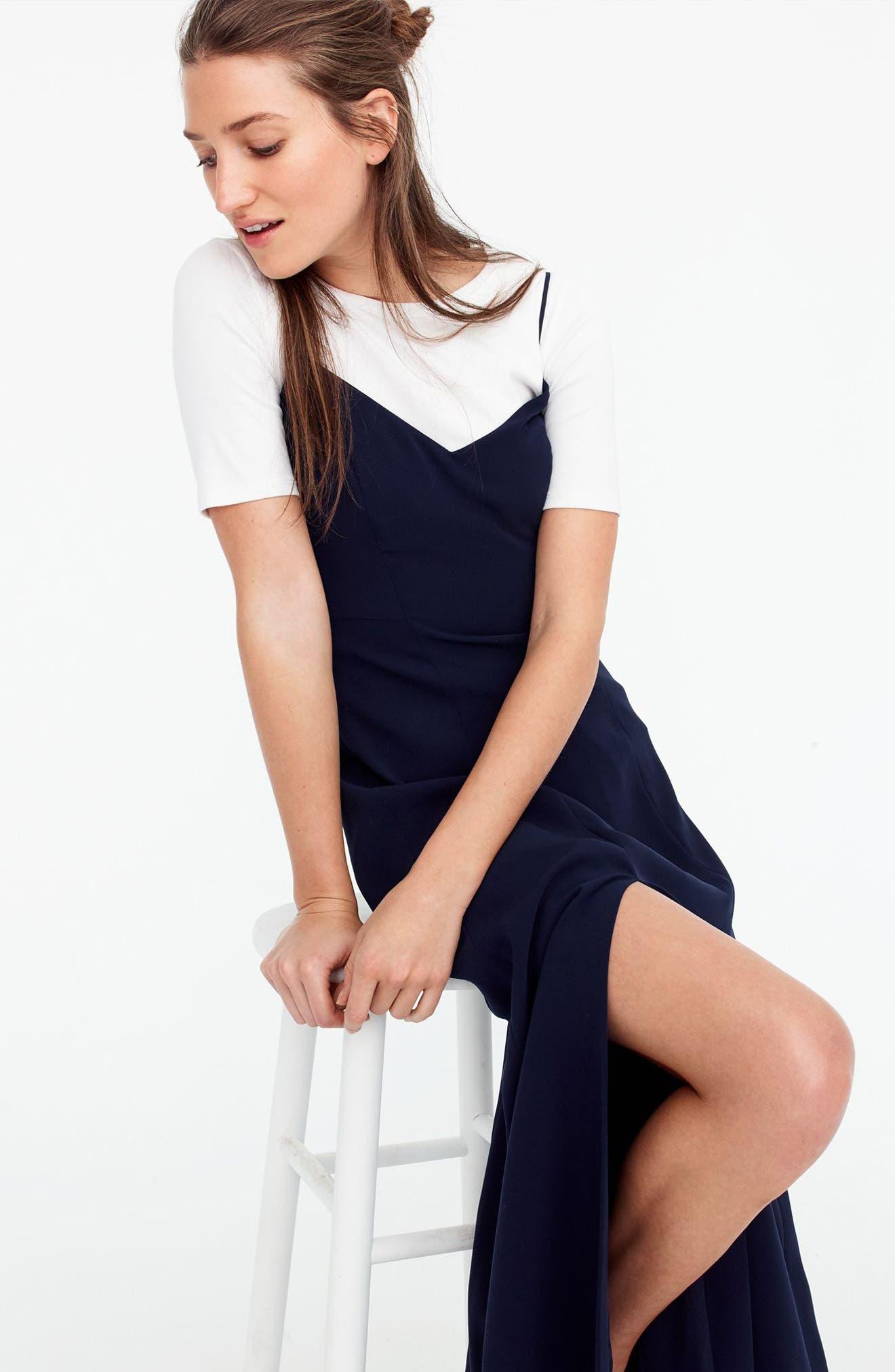 Side Slit Sleeveless Maxi Dress,                             Alternate thumbnail 5, color,                             401