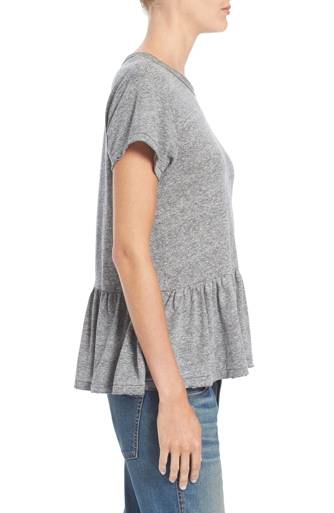 The Ruffle Tee,                             Alternate thumbnail 37, color,