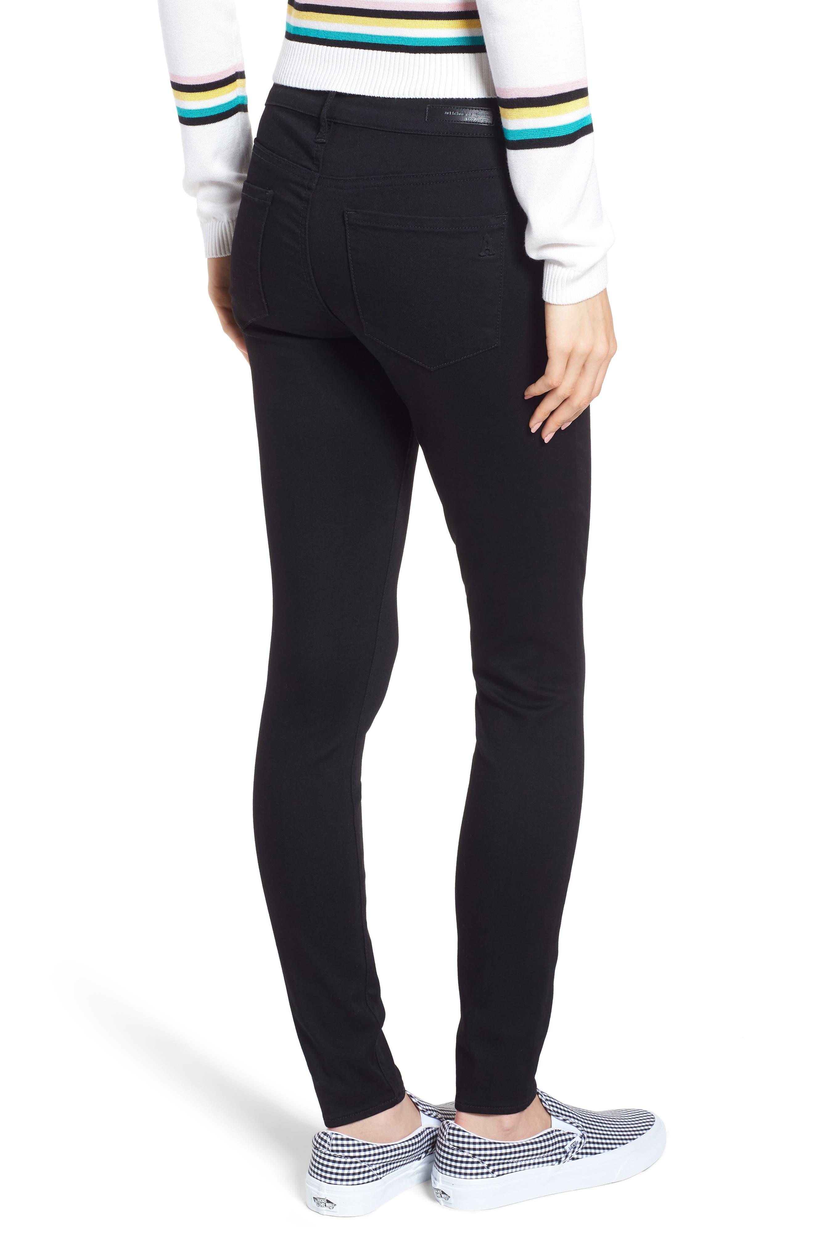 Sarah Skinny Jeans,                             Alternate thumbnail 2, color,                             MACON