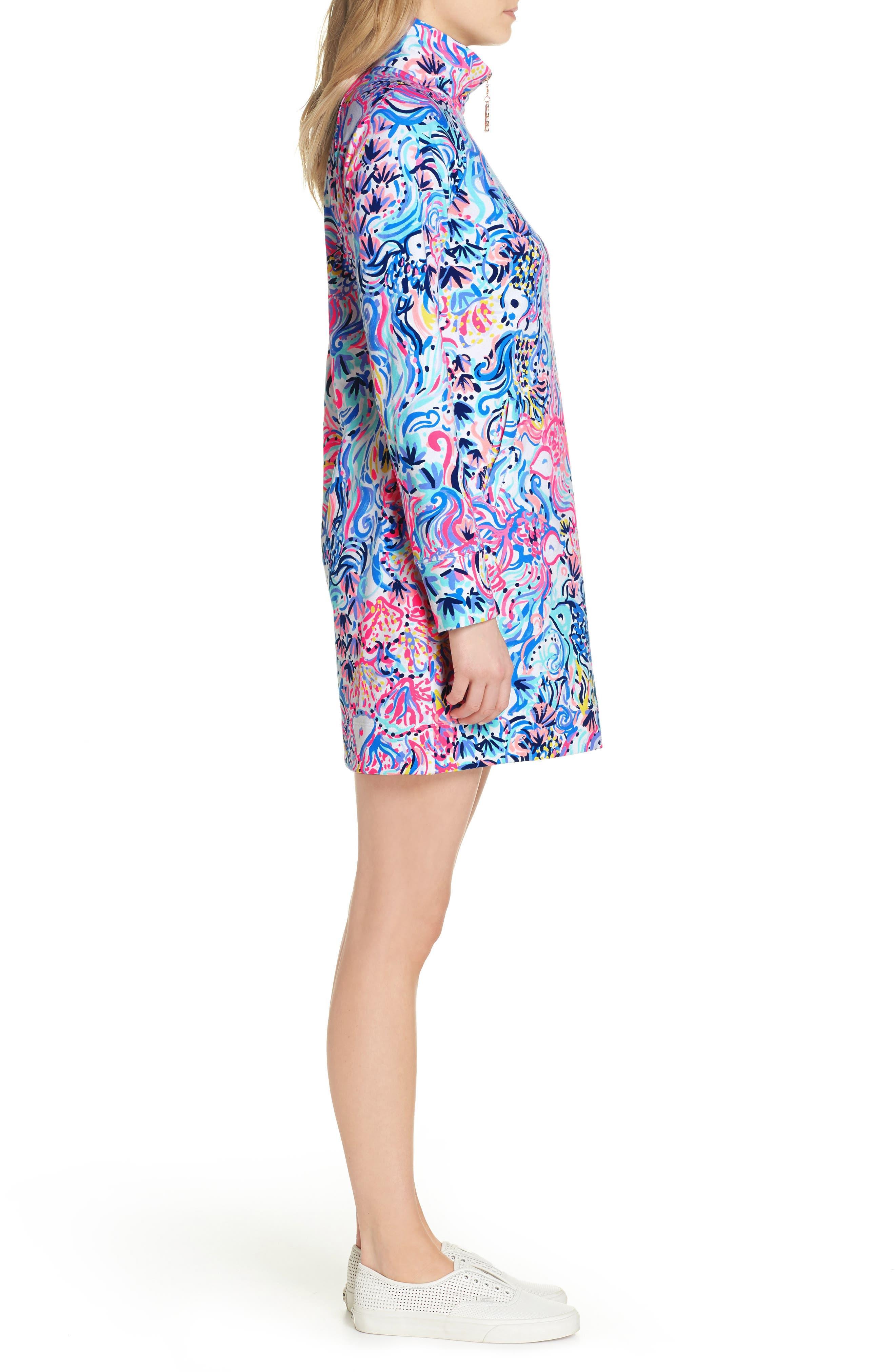 Skipper UPF 50+ Dress,                             Alternate thumbnail 3, color,                             MULTI SO SOPHISHTICATED