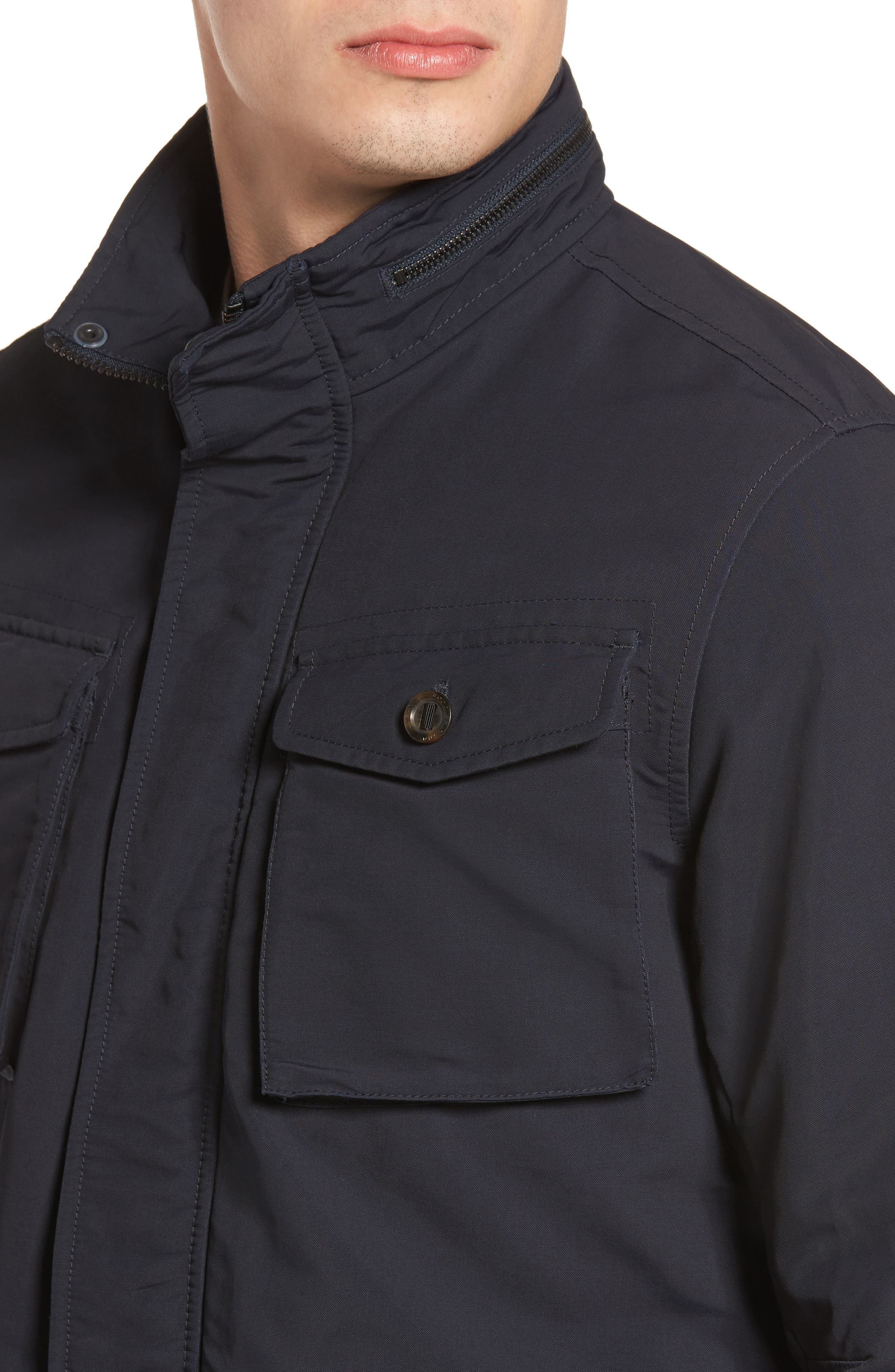 Bendigo Utility Jacket,                             Alternate thumbnail 4, color,                             ECLIPSE