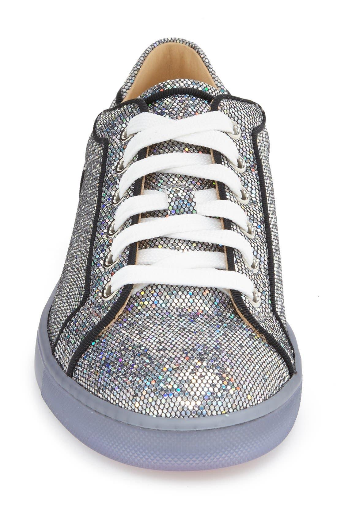 'Seava' Disco Ball Glitter Sneaker,                             Alternate thumbnail 3, color,                             040
