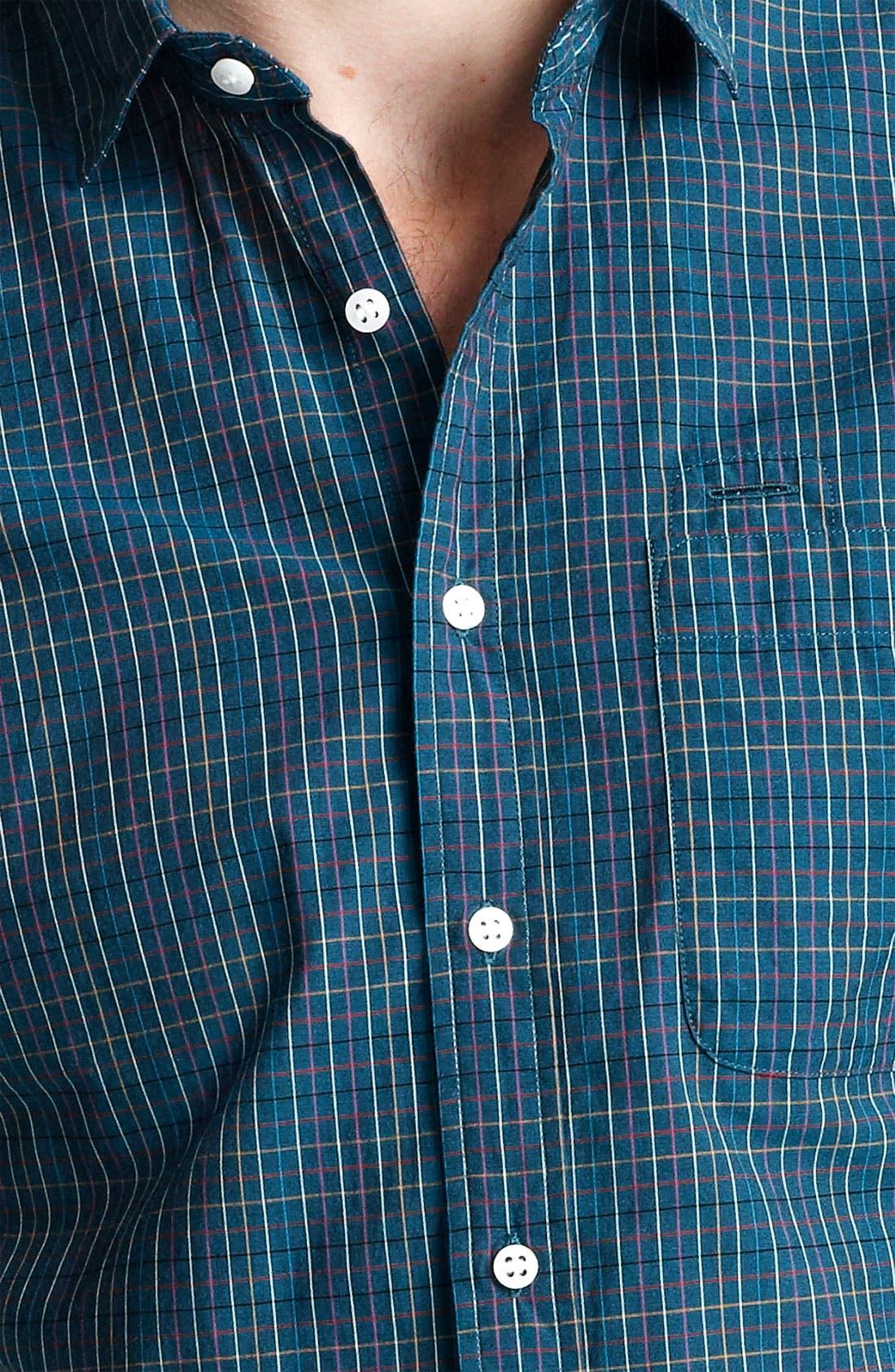 Plaid Woven Shirt,                             Alternate thumbnail 3, color,                             301