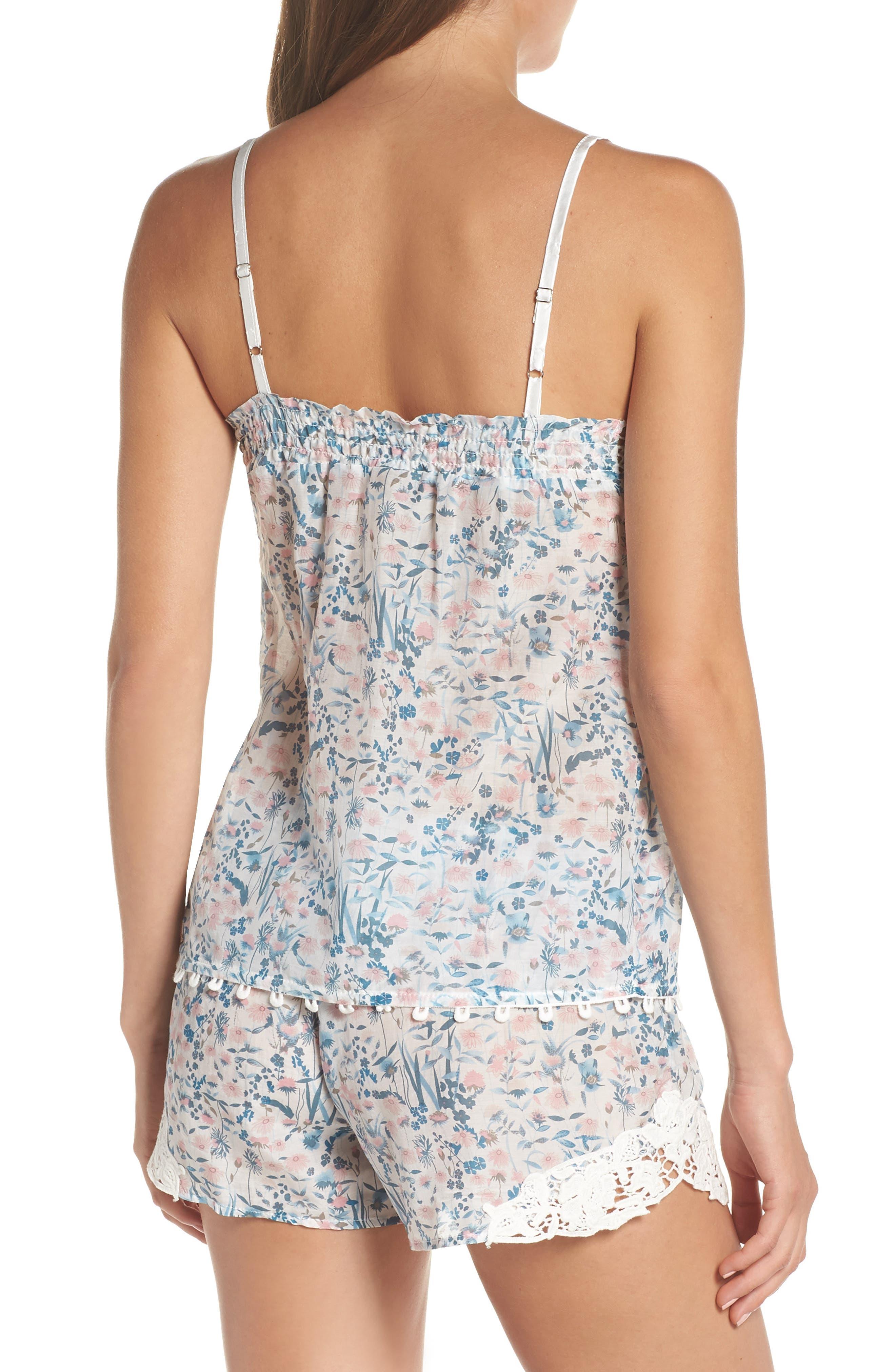 Ellie Short Pajamas,                             Alternate thumbnail 2, color,                             BLUE