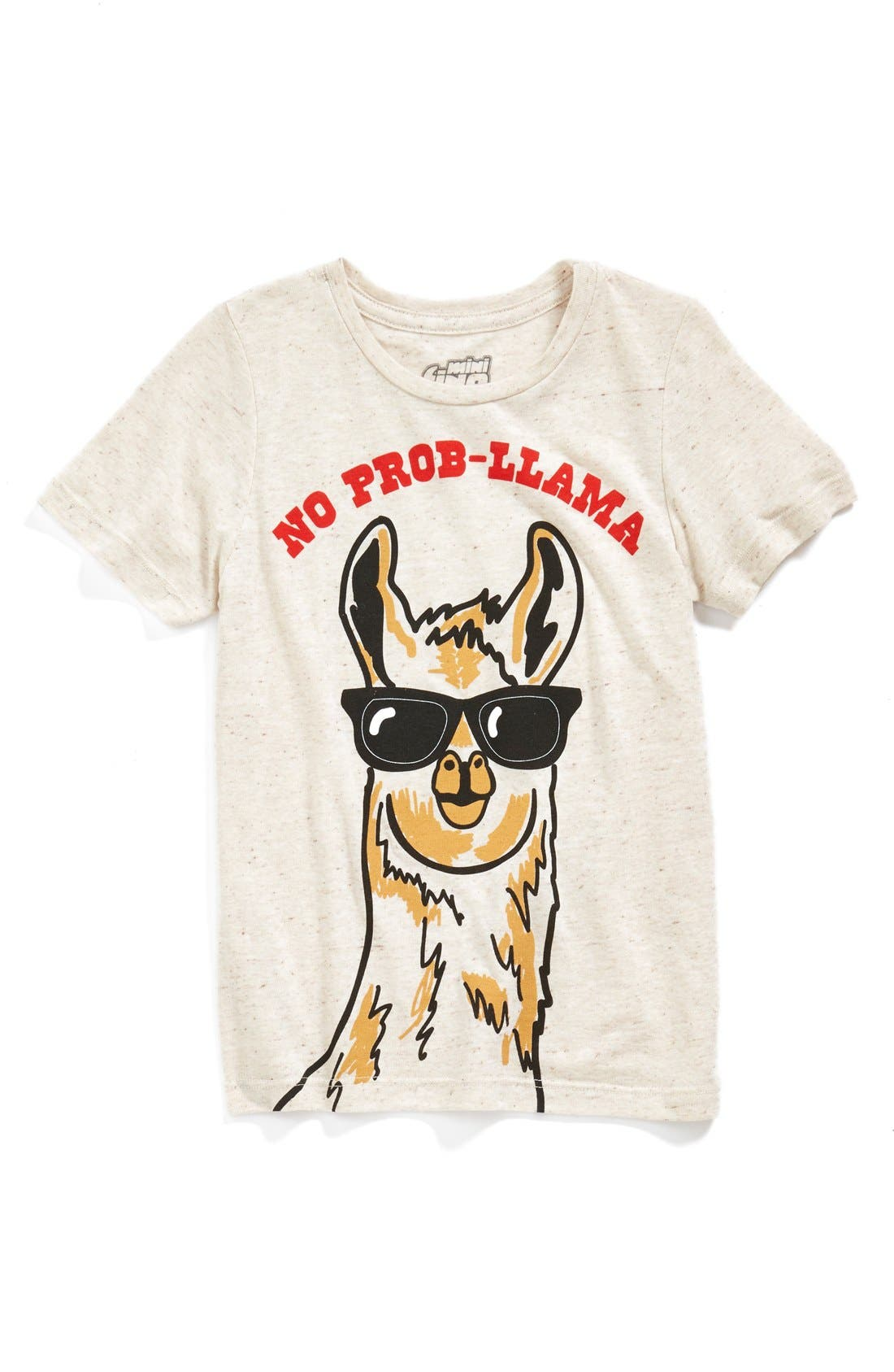 'No Prob-llama' T-Shirt, Main, color, 057
