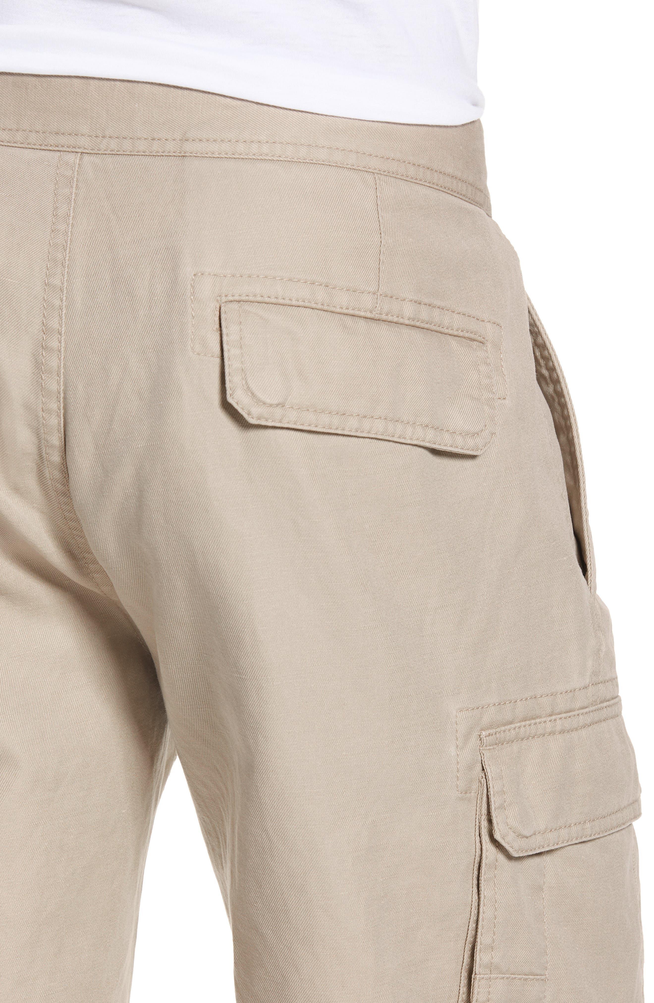 Sandyford Cargo Shorts,                             Alternate thumbnail 4, color,                             NATURAL