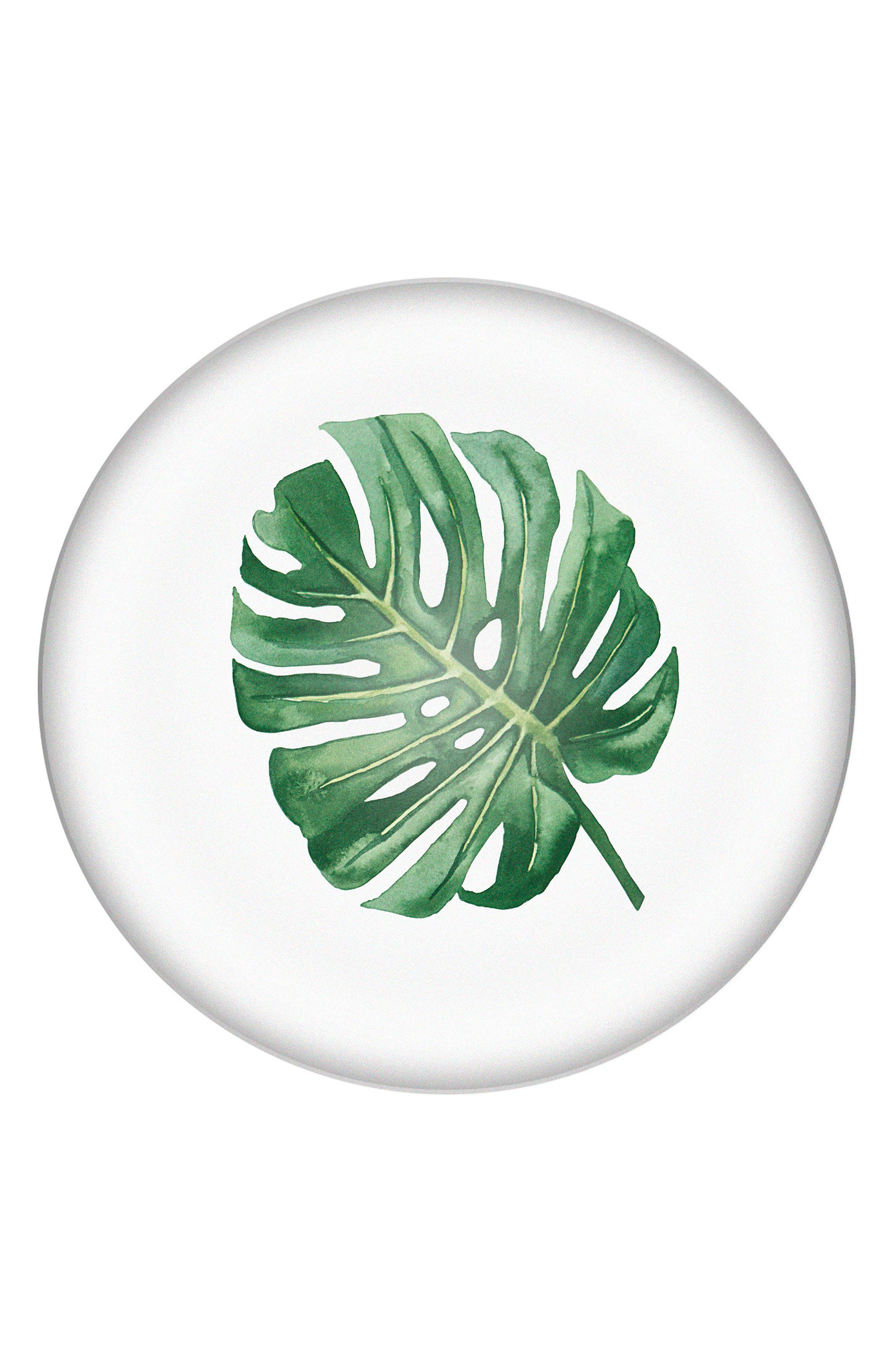 Palm Domed Glass Paperweight,                         Main,                         color,