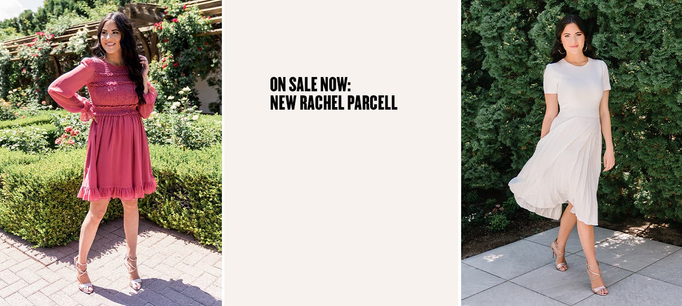 On Sale Now: new Rachel Parcell.