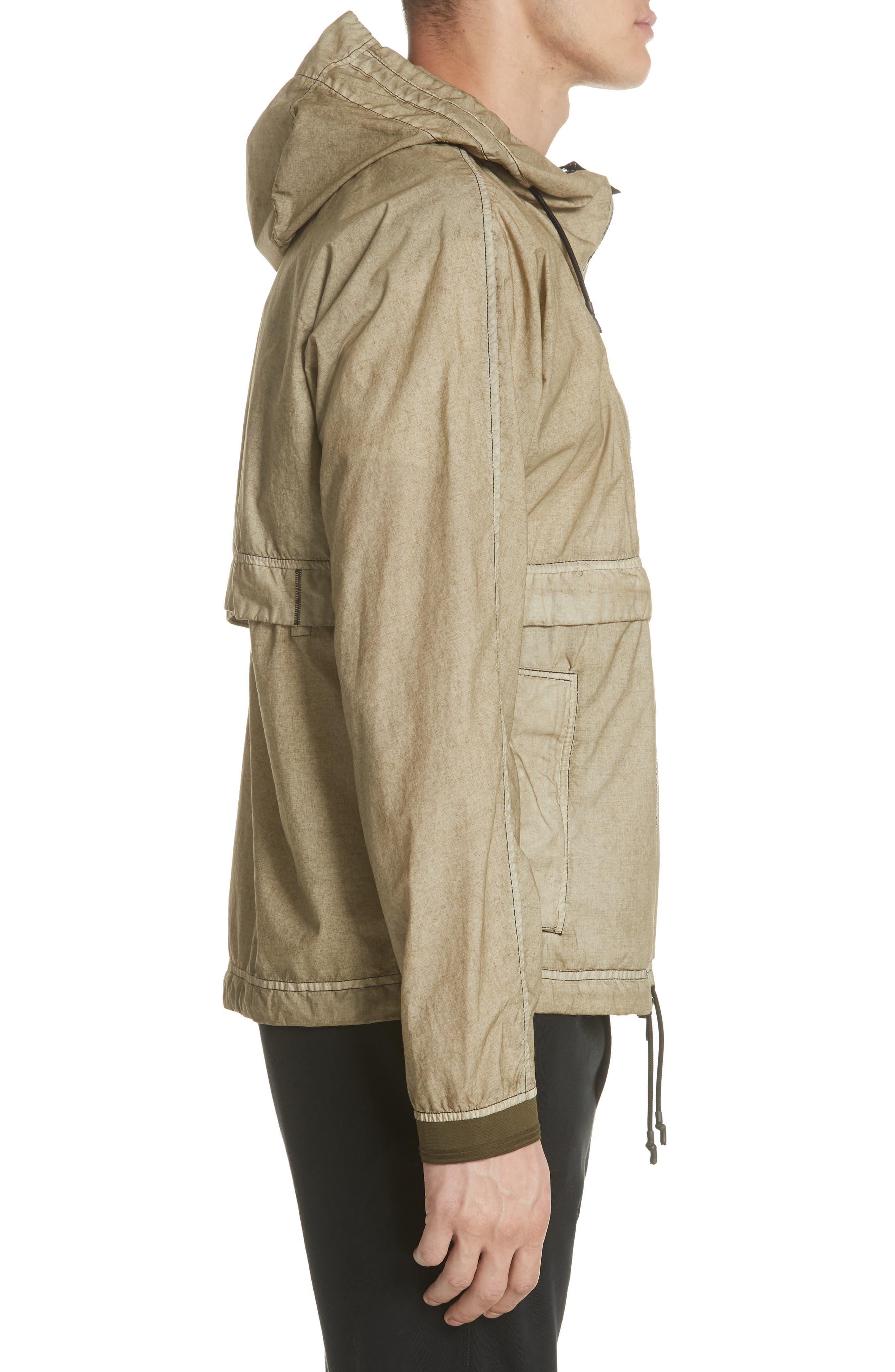 Poplin Hooded Jacket,                             Alternate thumbnail 6, color,