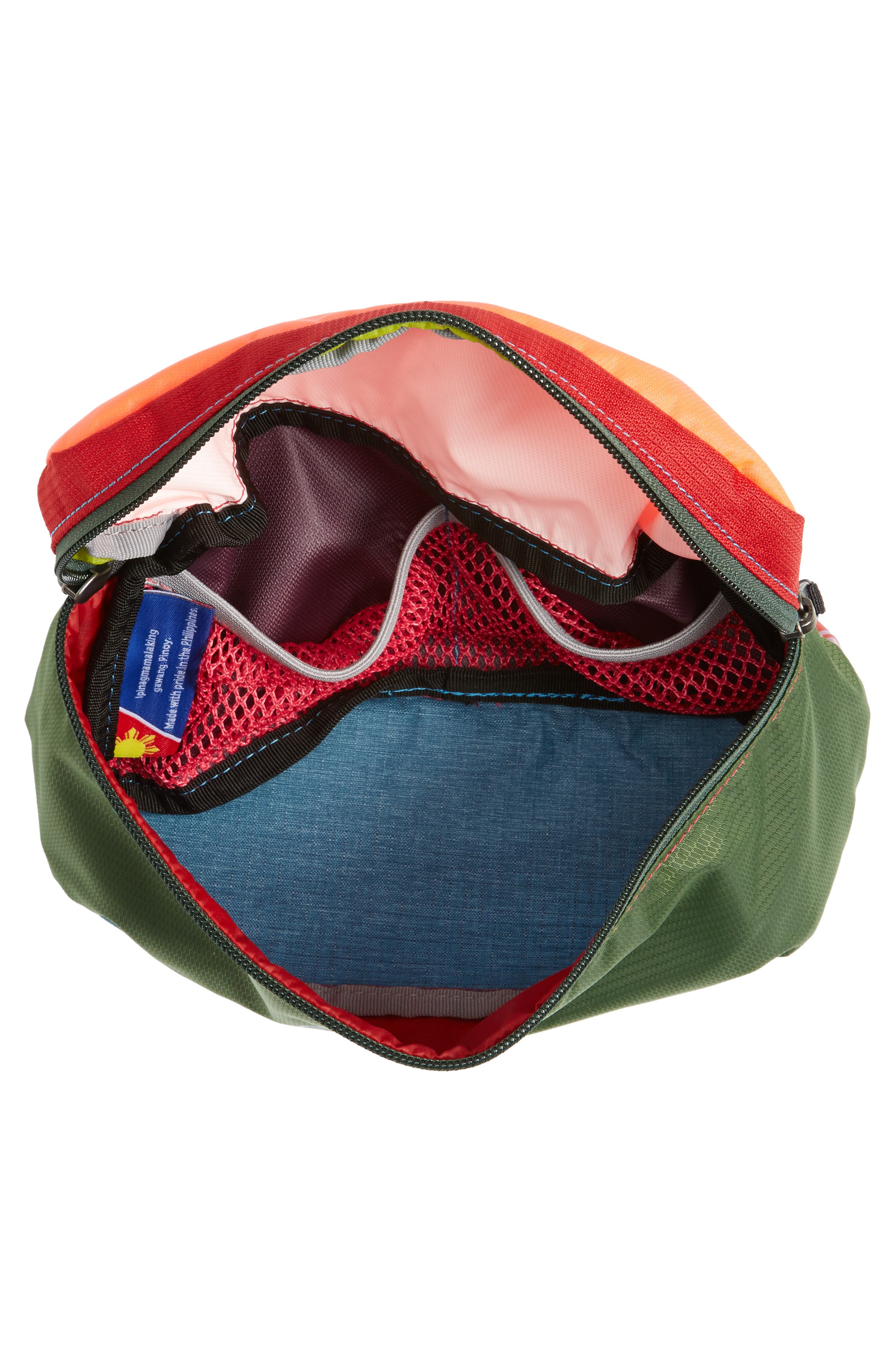 Bataan One of a Kind Duffel Fanny Pack,                             Alternate thumbnail 4, color,