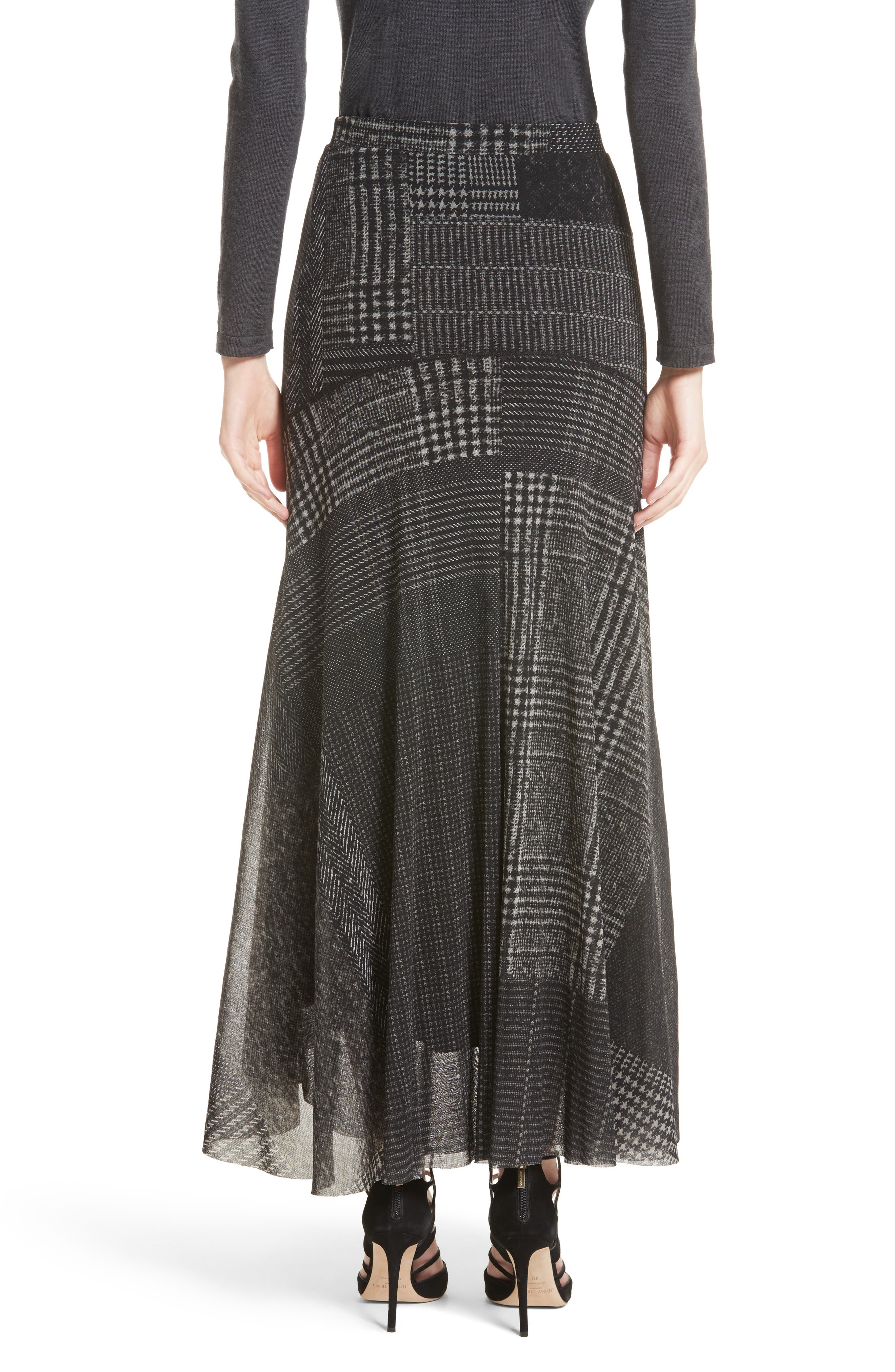 Tulle Maxi Skirt,                             Alternate thumbnail 2, color,                             001