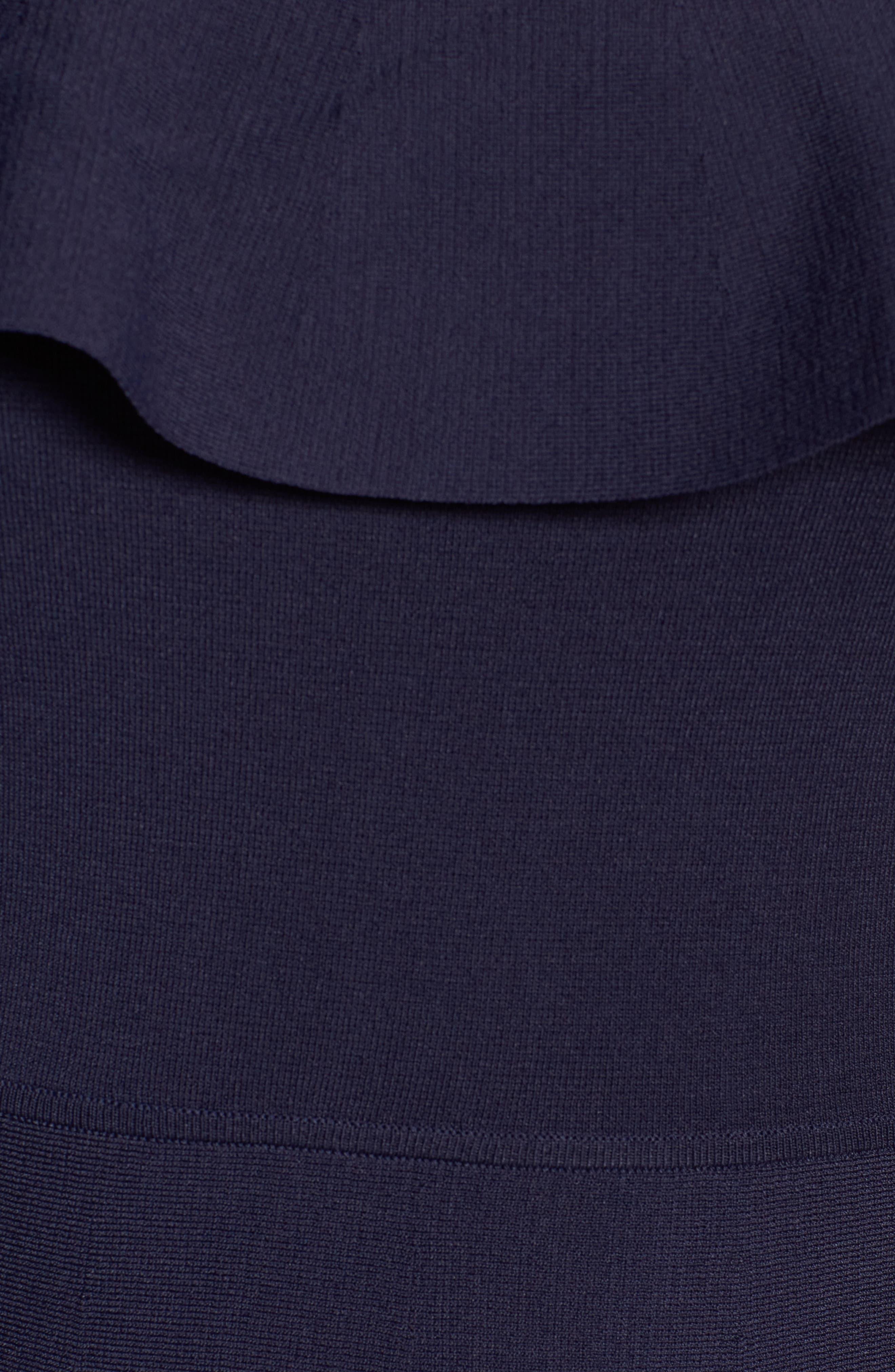 Off the Shoulder Dress,                             Alternate thumbnail 5, color,                             410