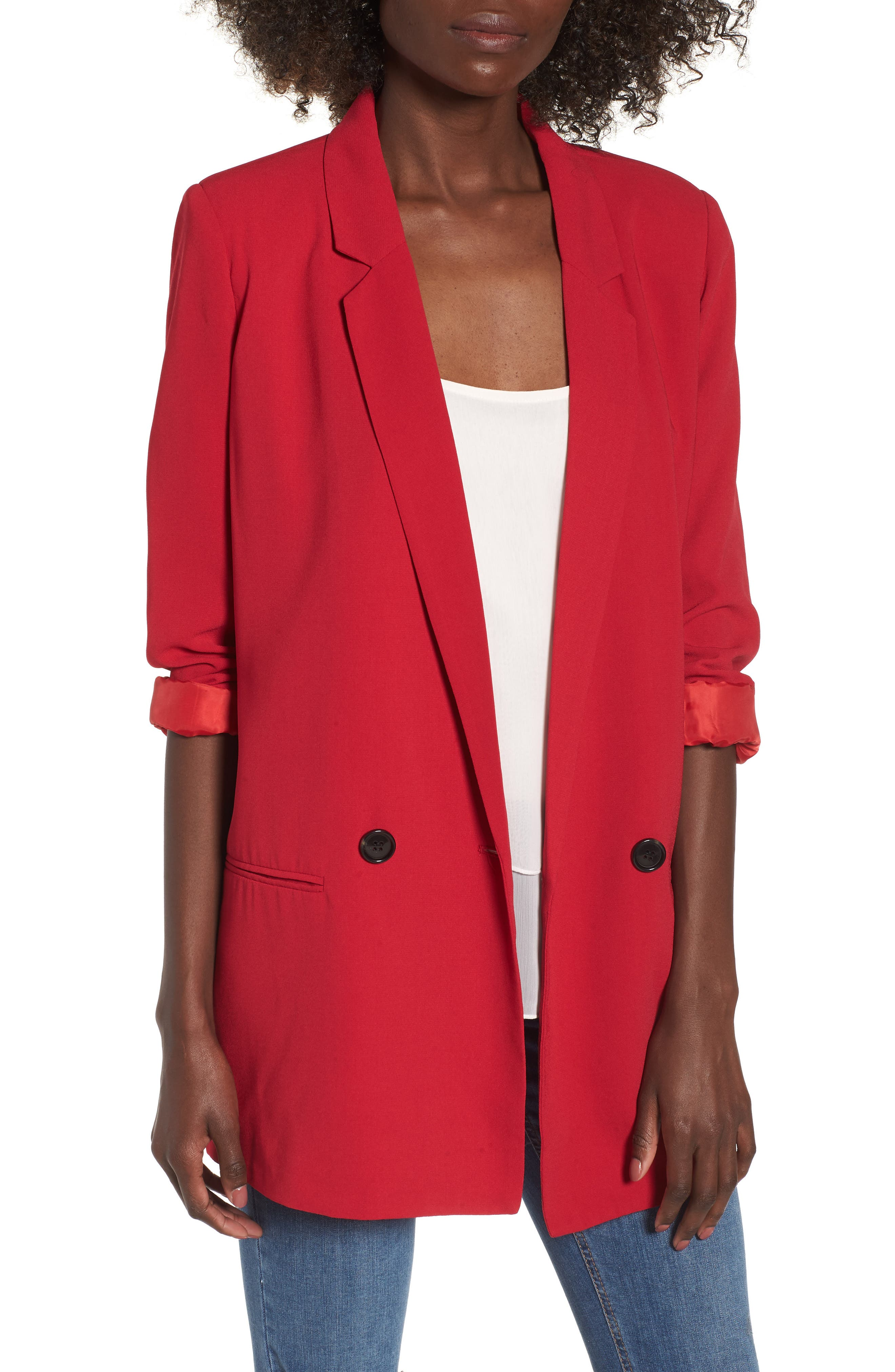 Oversize Blazer,                         Main,                         color,