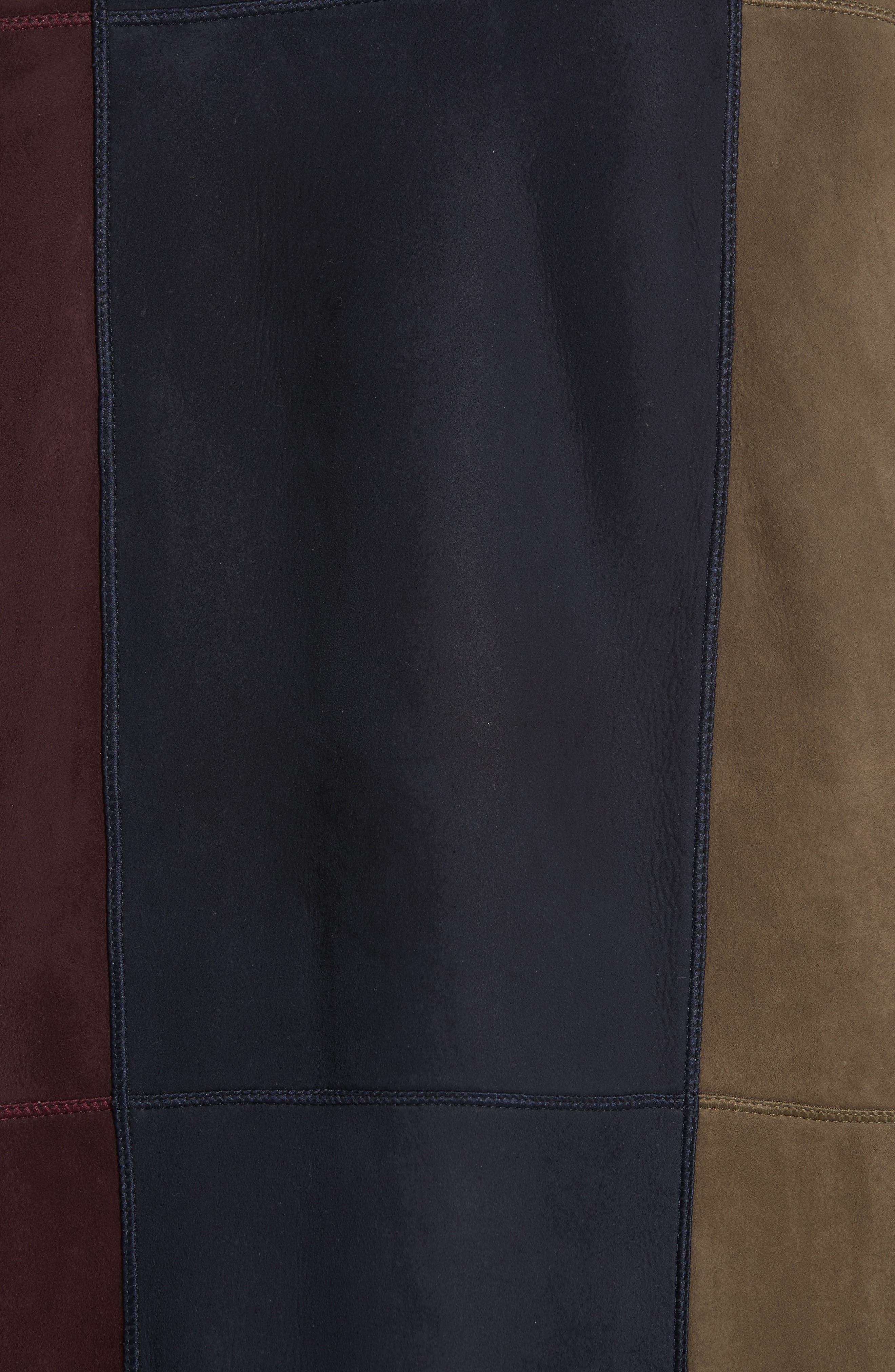 Robyn Reversible Genuine Shearling Coat,                             Alternate thumbnail 7, color,                             438