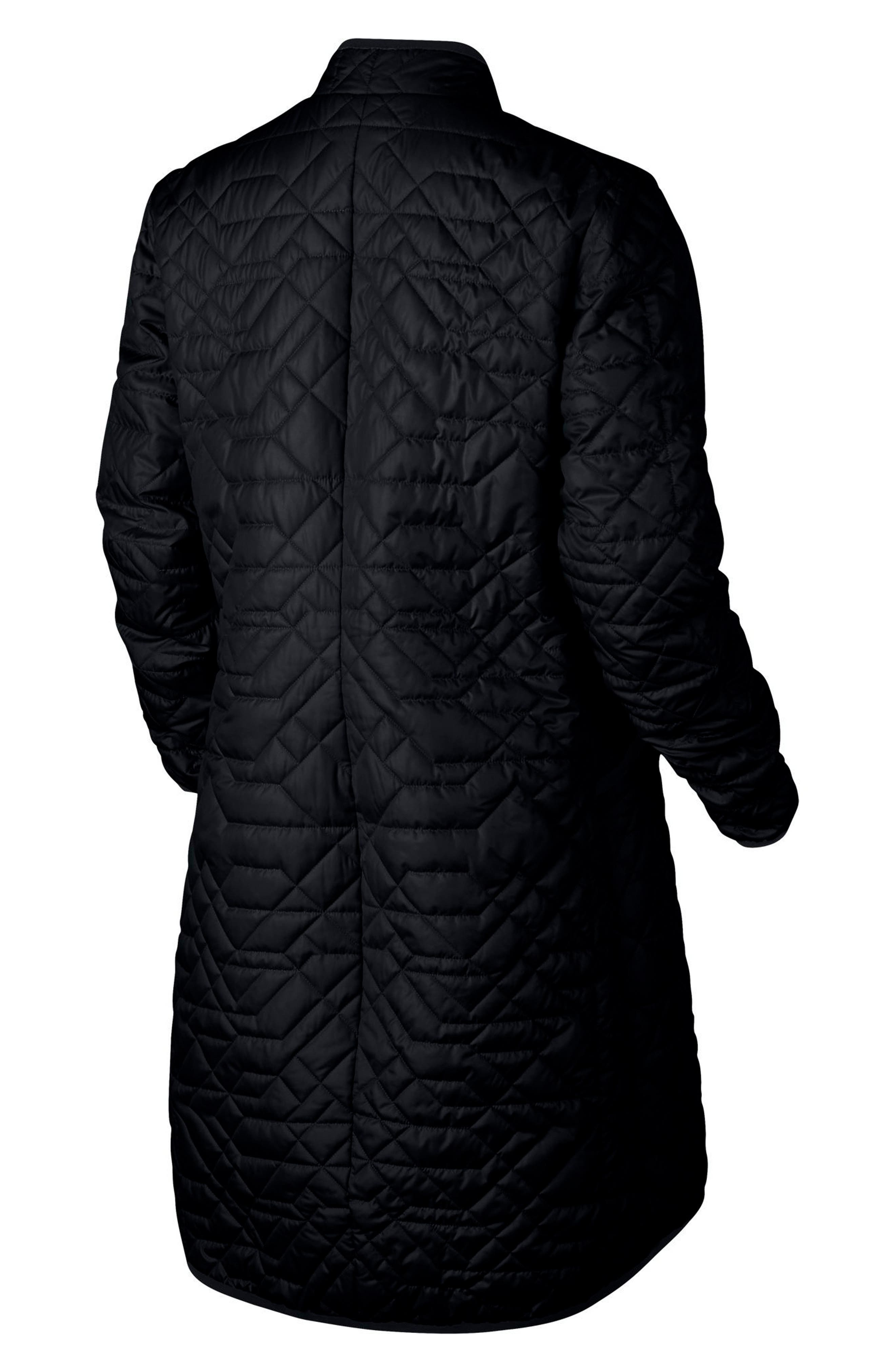 Sportswear Quilted Women's Parka,                             Alternate thumbnail 6, color,                             010