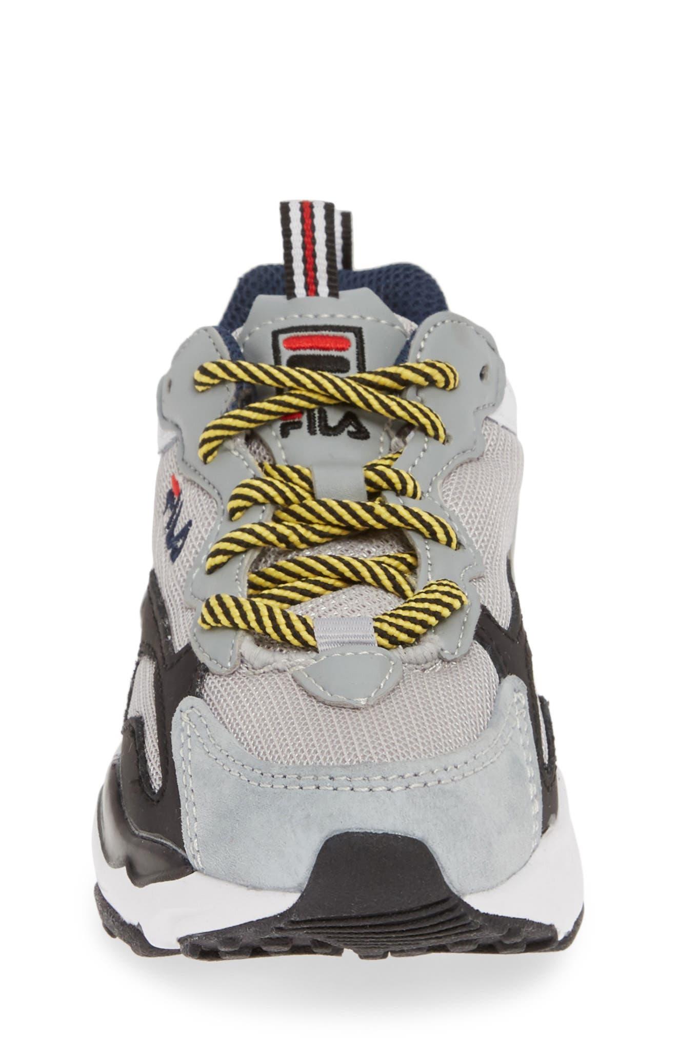 FILA,                             Ray Tracer Sneaker,                             Alternate thumbnail 4, color,                             VAPOR BLUE/ HIGHRISE/ BLACK