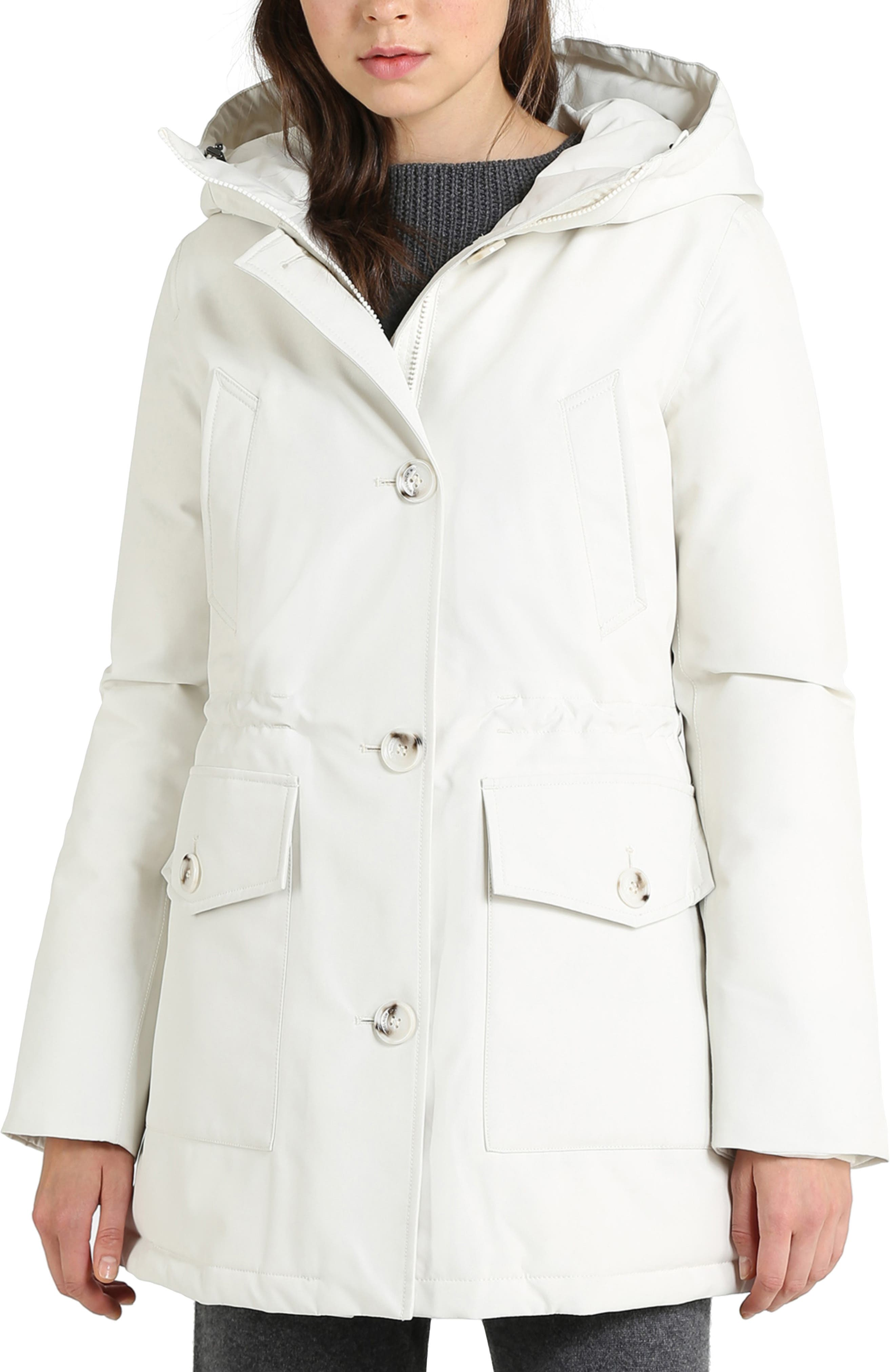 Mountain Gore-Tex<sup>®</sup> Hooded Down Parka,                         Main,                         color, WHITE IGLOO