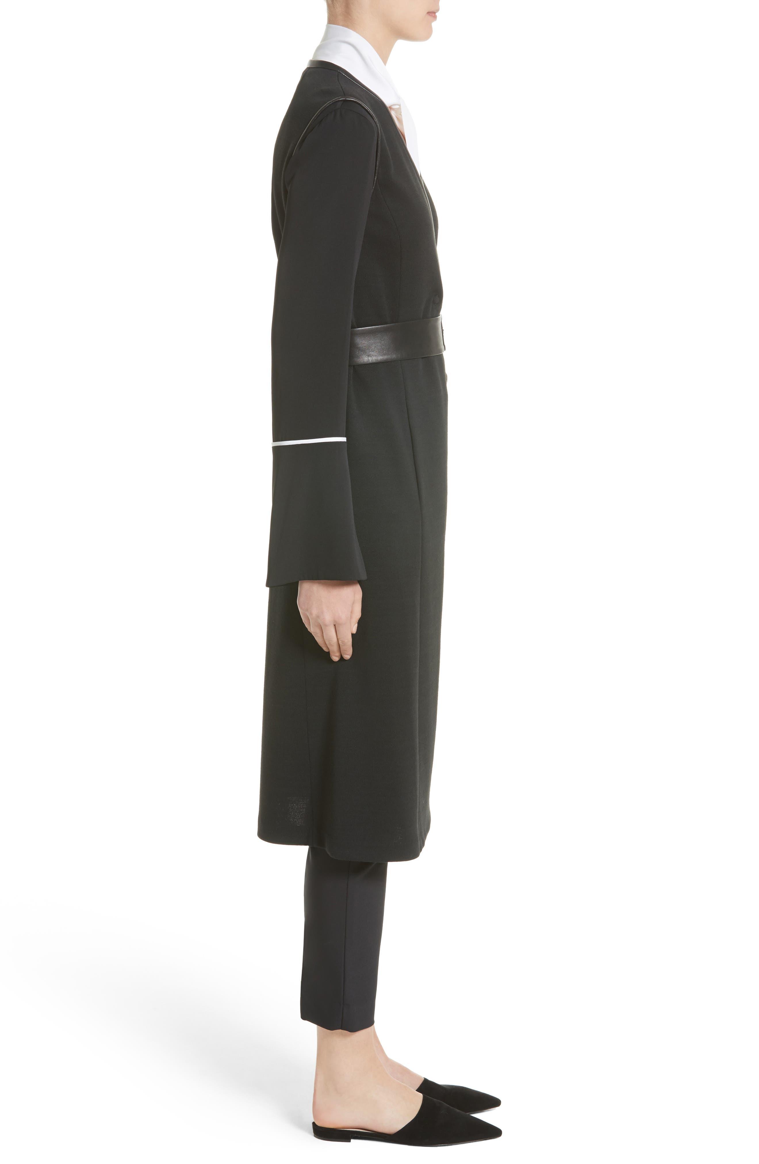Milano Knit A-Line Vest,                             Alternate thumbnail 3, color,                             001