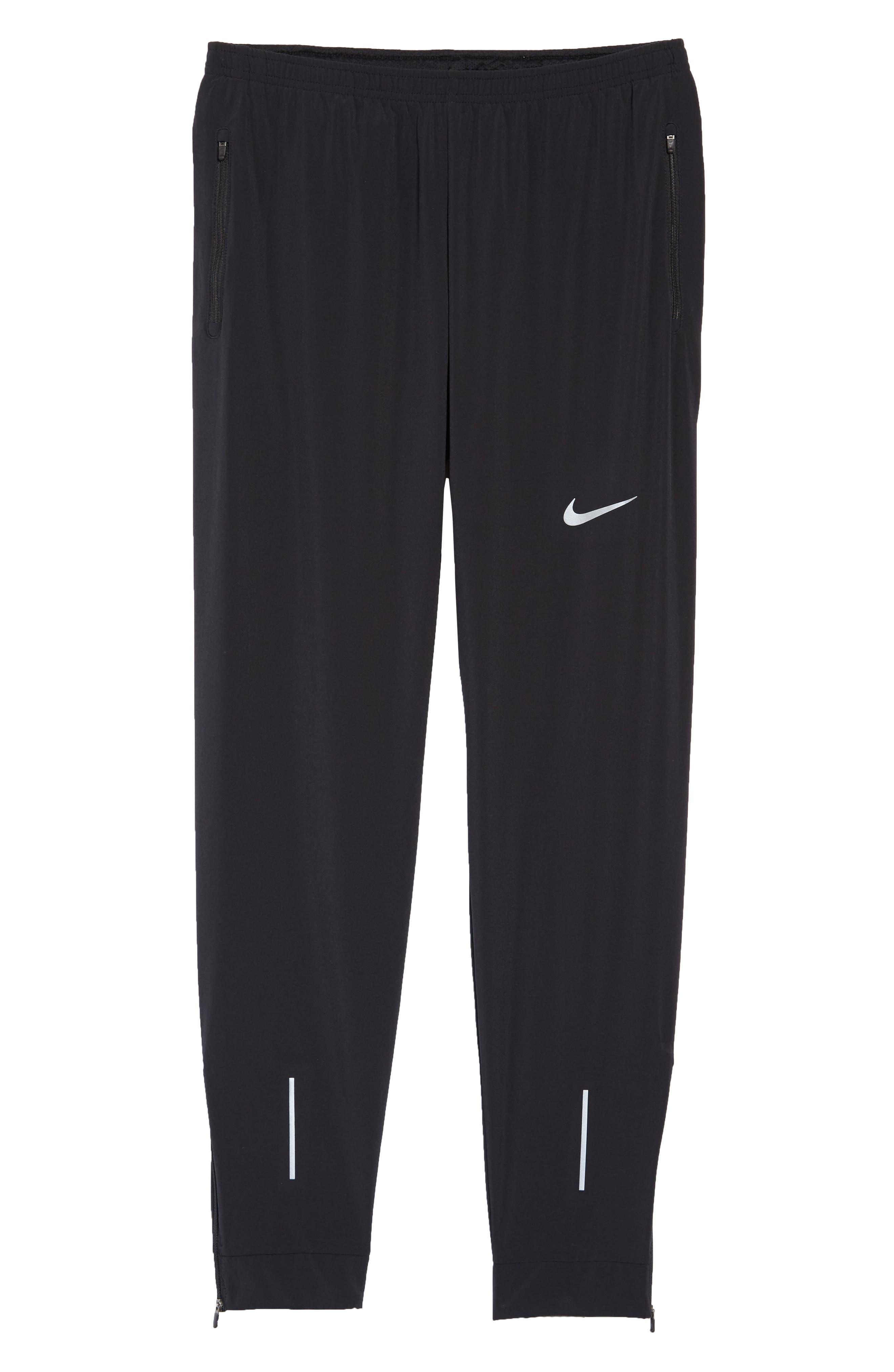 Essential Flex Running Pants,                             Alternate thumbnail 6, color,                             BLACK