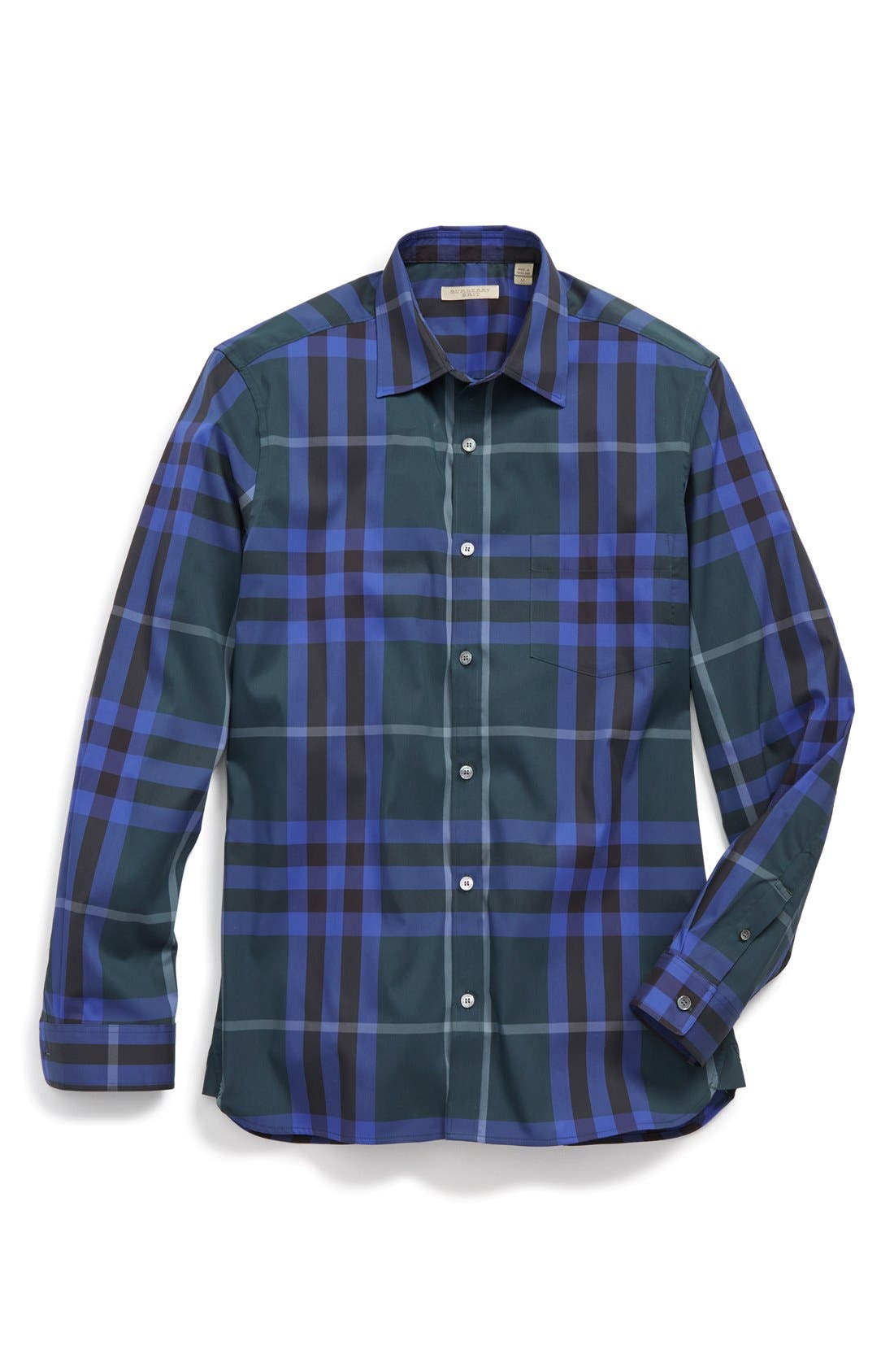 Nelson Check Sport Shirt,                             Alternate thumbnail 120, color,