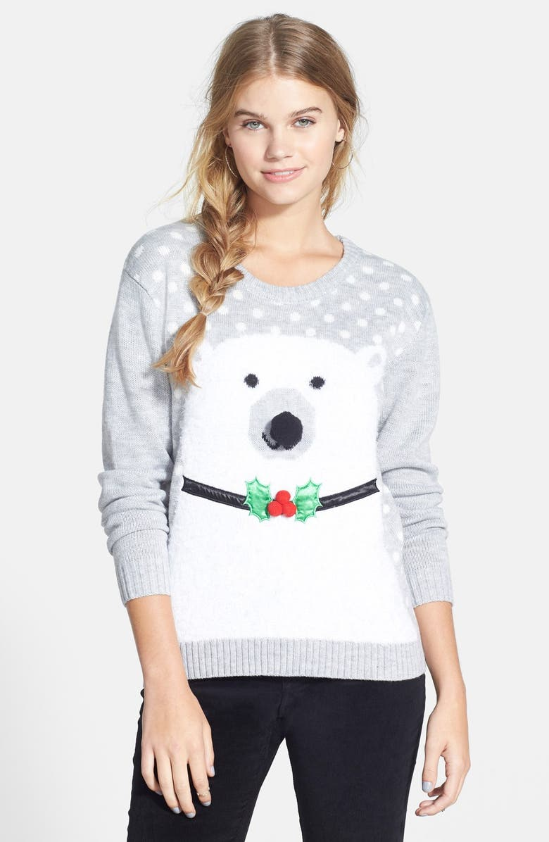 Love by Design \'Ugly Christmas Sweater\' (Juniors) | Nordstrom